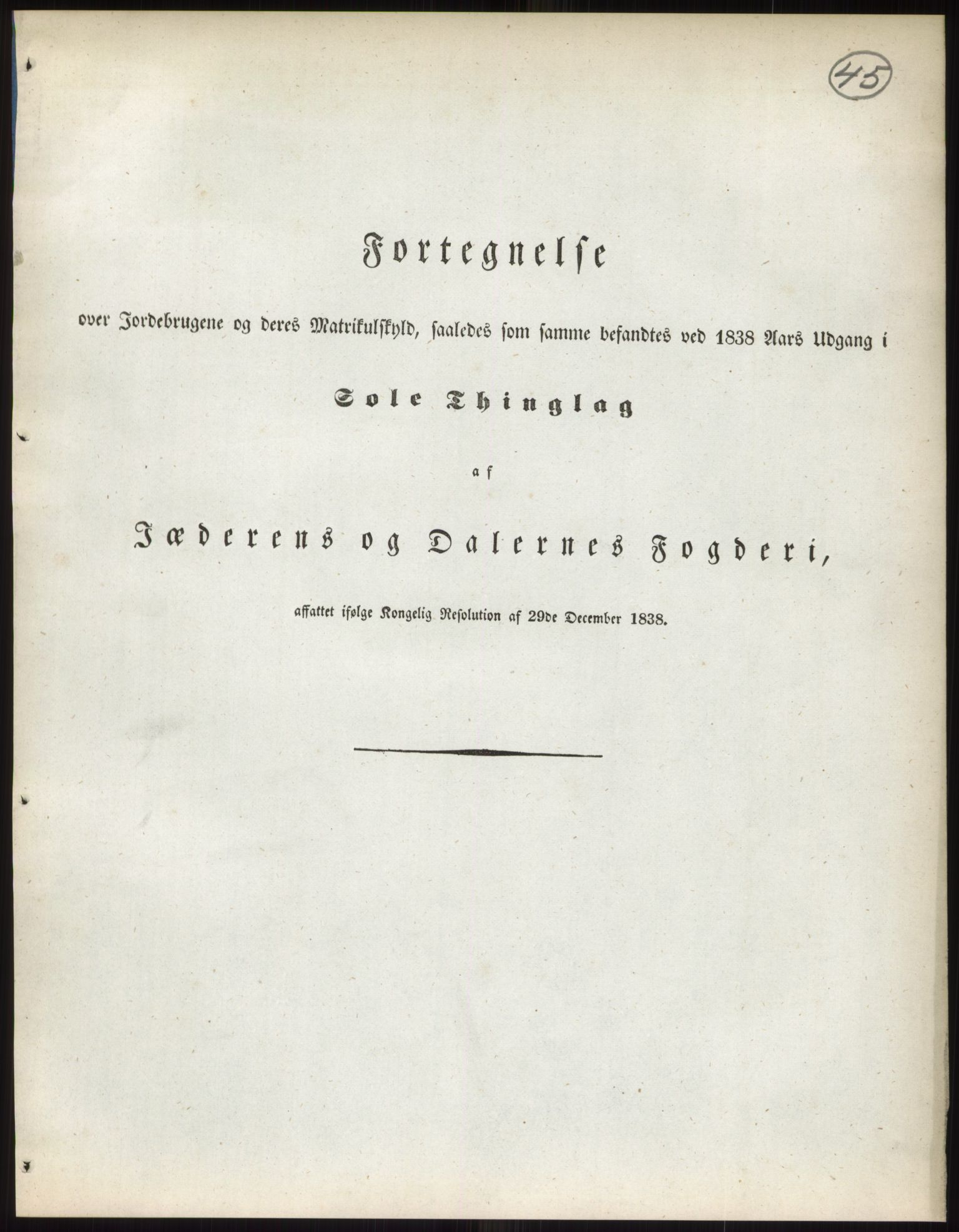 RA, 1838-matrikkelen (publikasjon)*, 1838, s. 45