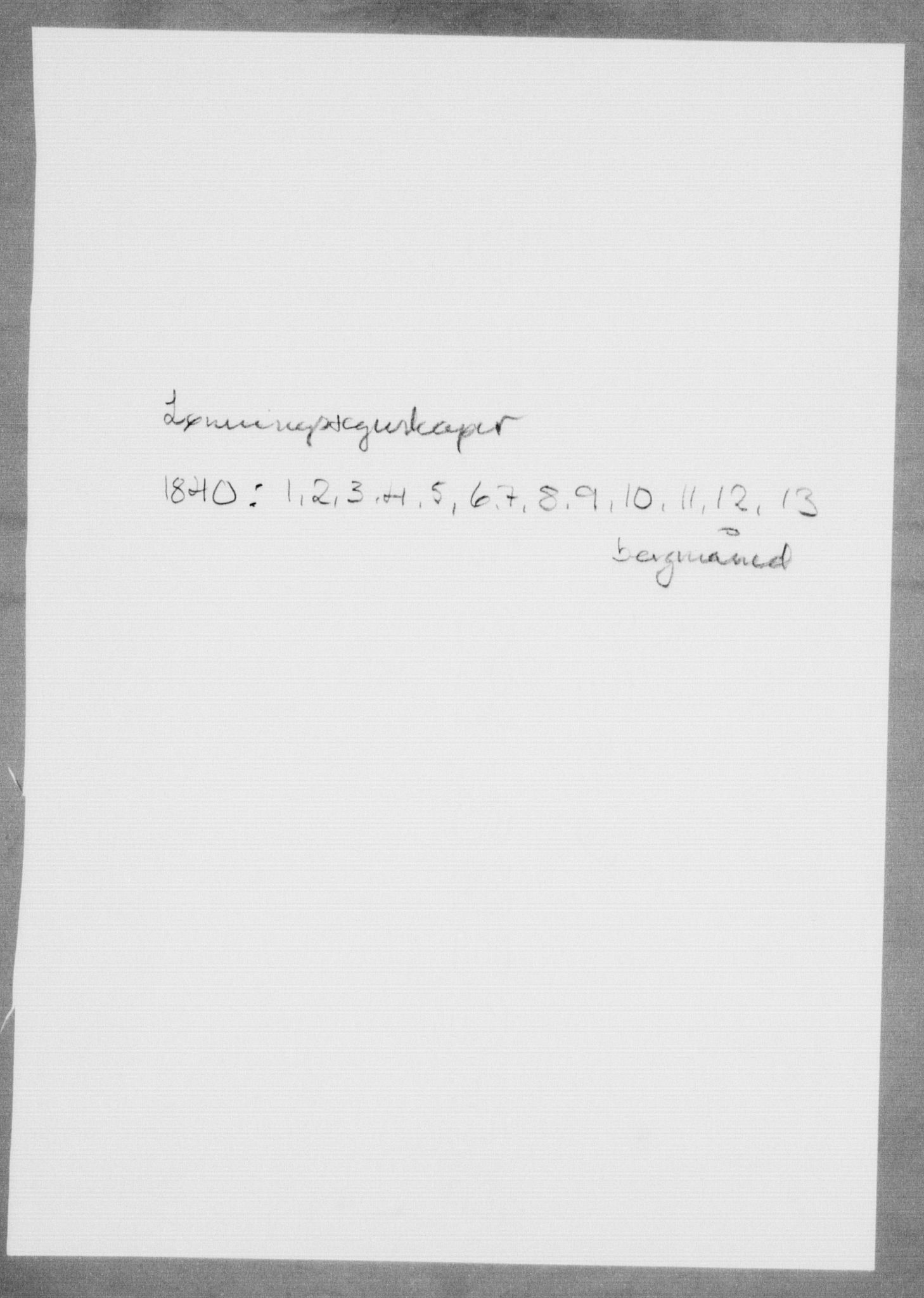 RA, Modums Blaafarveværk, G/Gd/Gdd/L0279, 1840, s. 2