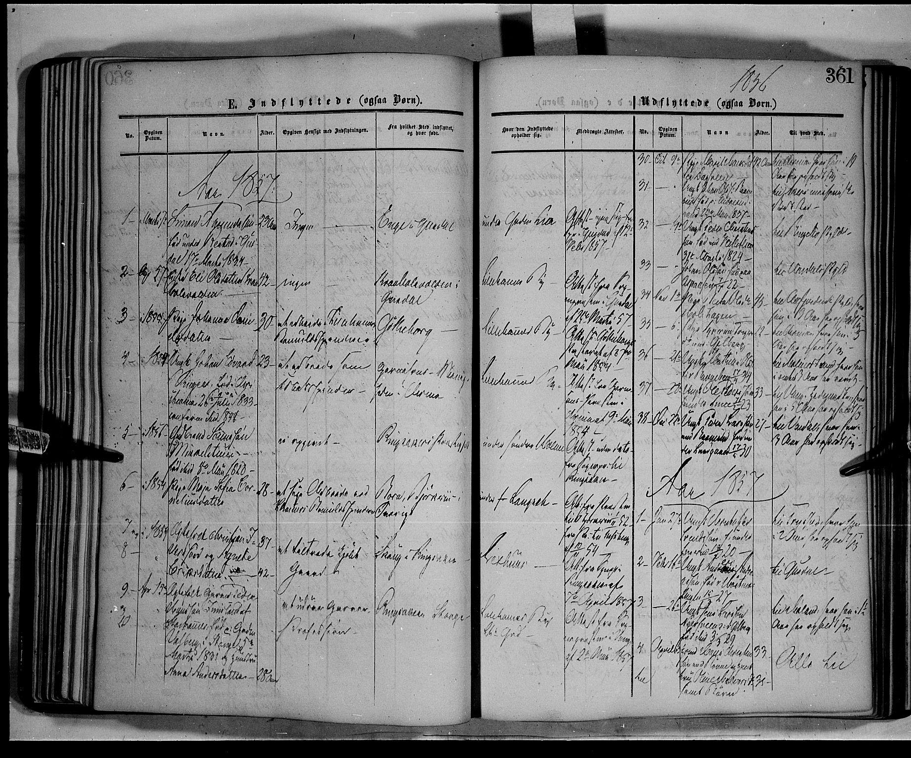 SAH, Fåberg prestekontor, Ministerialbok nr. 6B, 1855-1867, s. 361