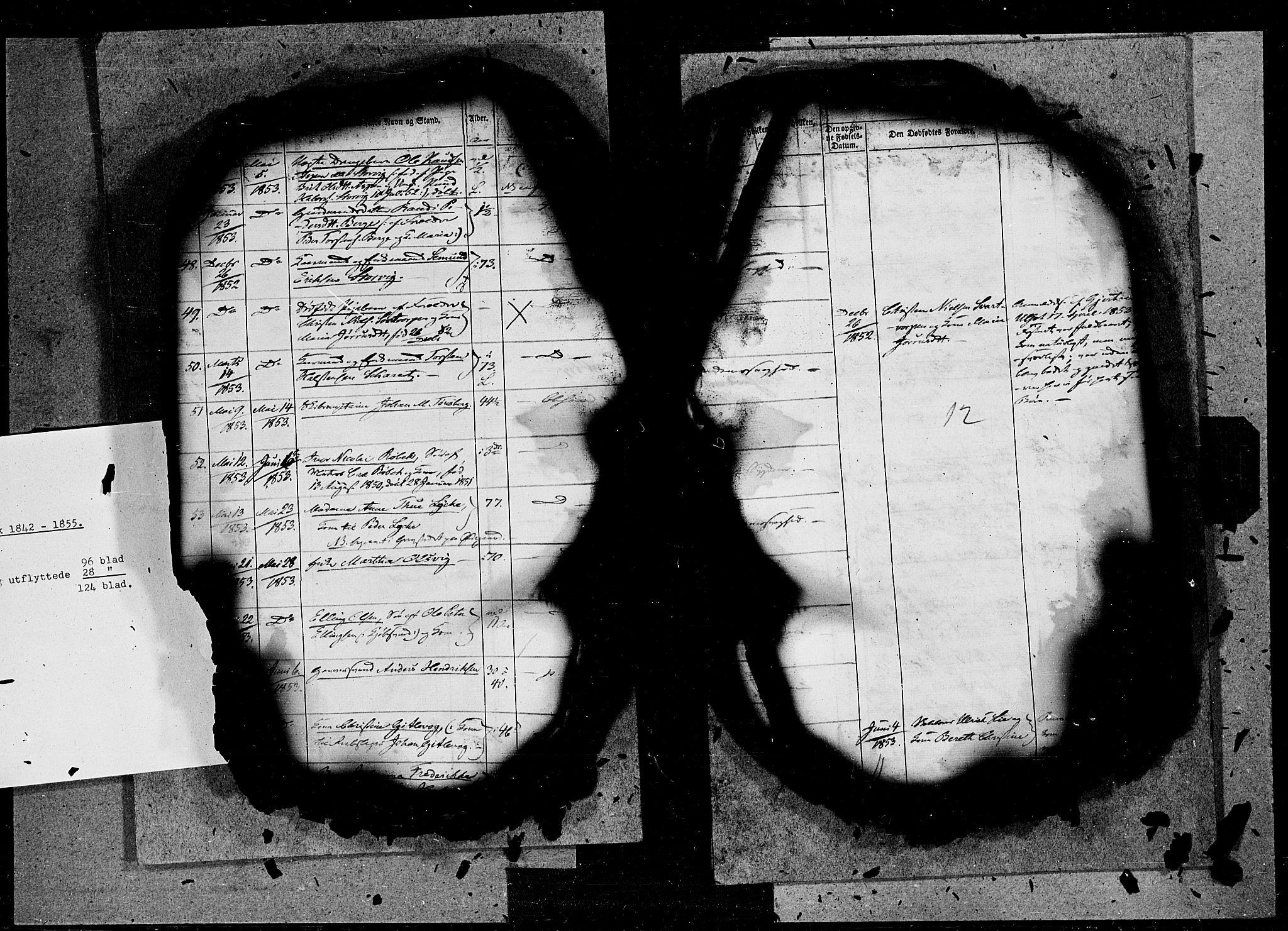 SAT, Ministerialprotokoller, klokkerbøker og fødselsregistre - Møre og Romsdal, 572/L0845: Ministerialbok nr. 572A08, 1842-1855, s. 12