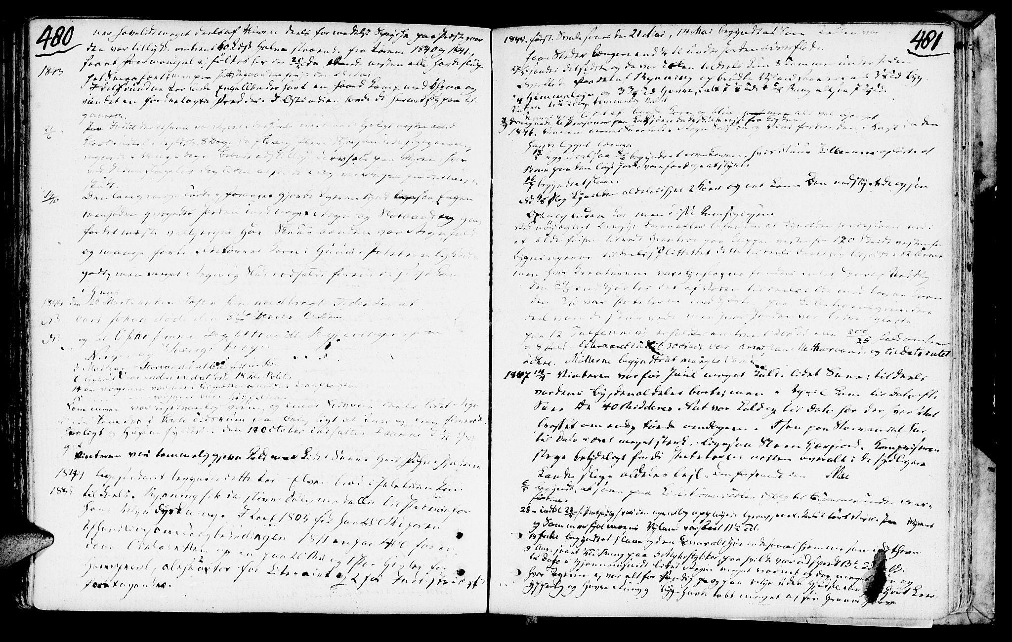 SAT, Ministerialprotokoller, klokkerbøker og fødselsregistre - Nord-Trøndelag, 749/L0468: Ministerialbok nr. 749A02, 1787-1817, s. 480-481