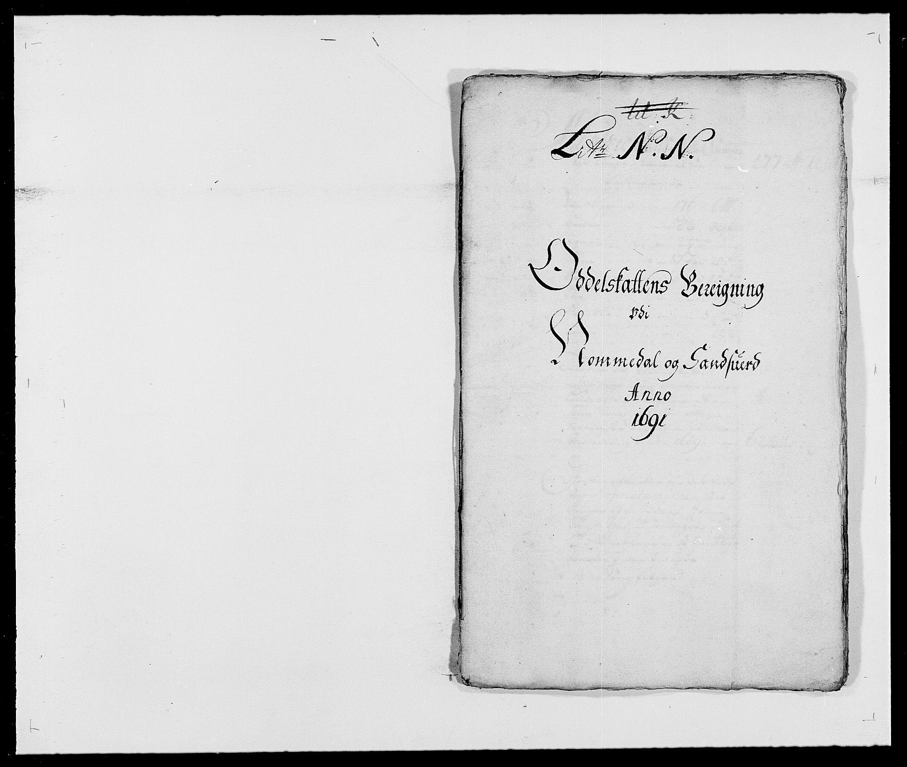 RA, Rentekammeret inntil 1814, Reviderte regnskaper, Fogderegnskap, R24/L1573: Fogderegnskap Numedal og Sandsvær, 1687-1691, s. 485