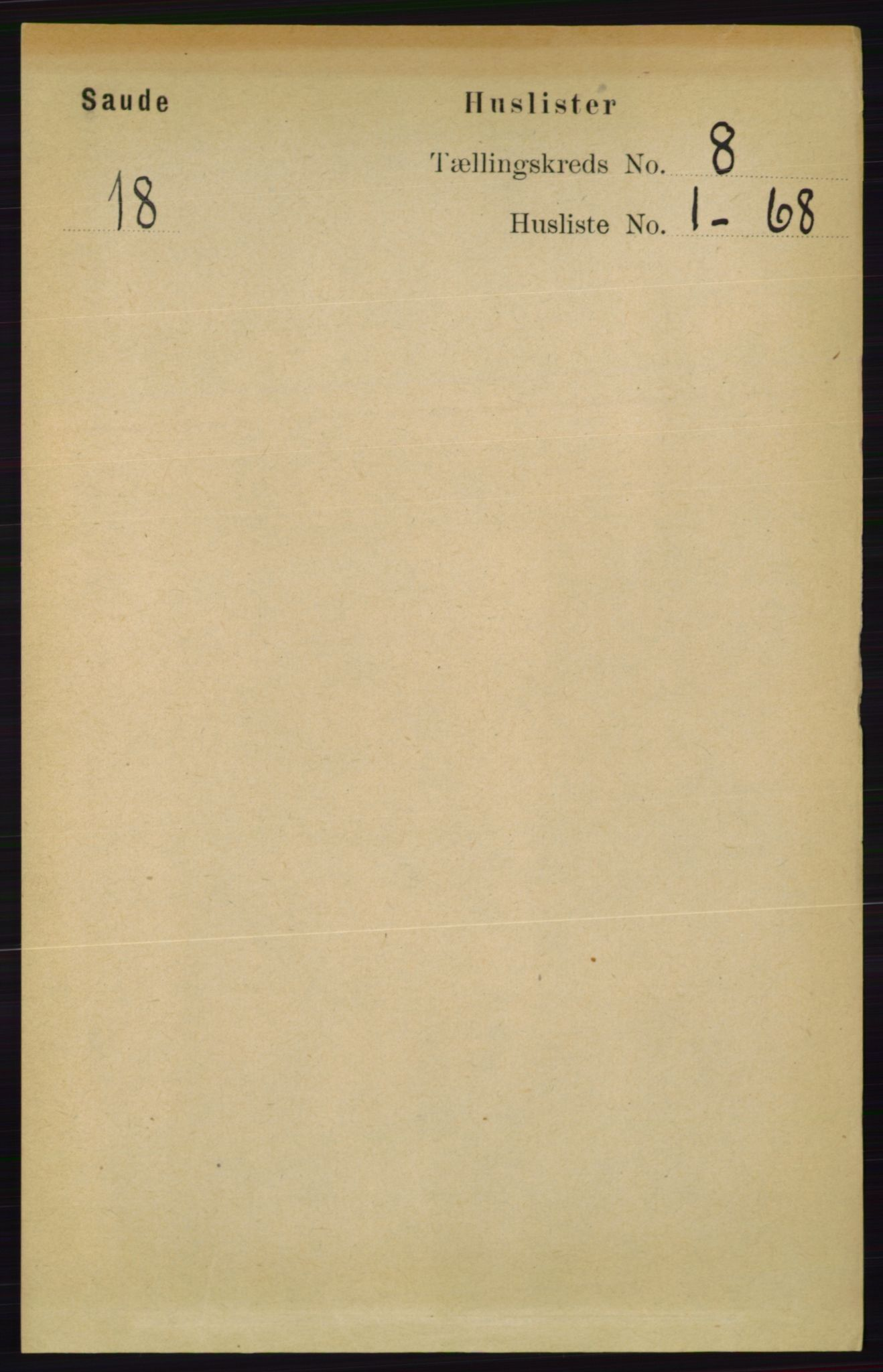 RA, Folketelling 1891 for 0822 Sauherad herred, 1891, s. 2250