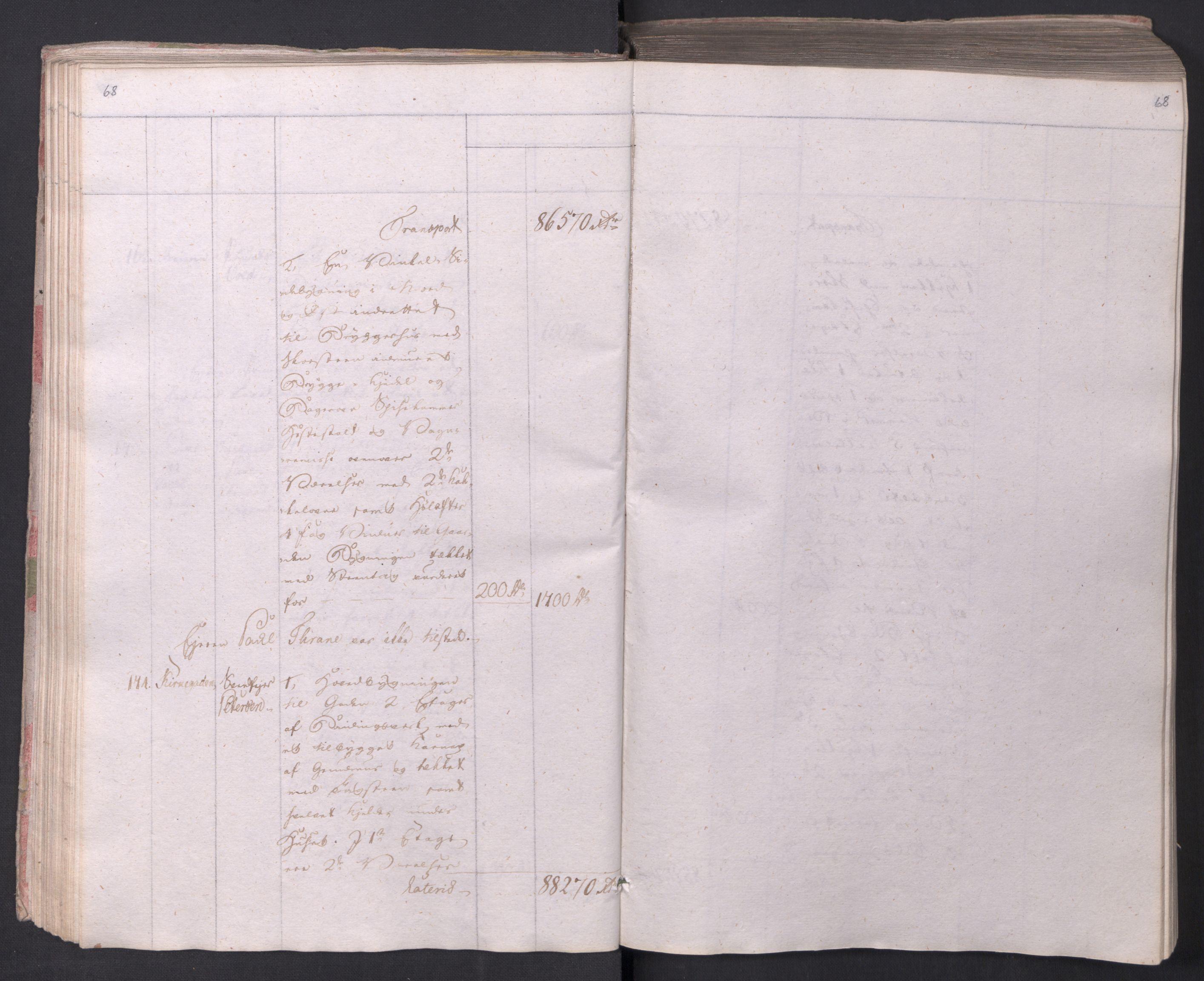 SAO, Kristiania stiftamt, I/Ia/L0015: Branntakster, 1797, s. 68
