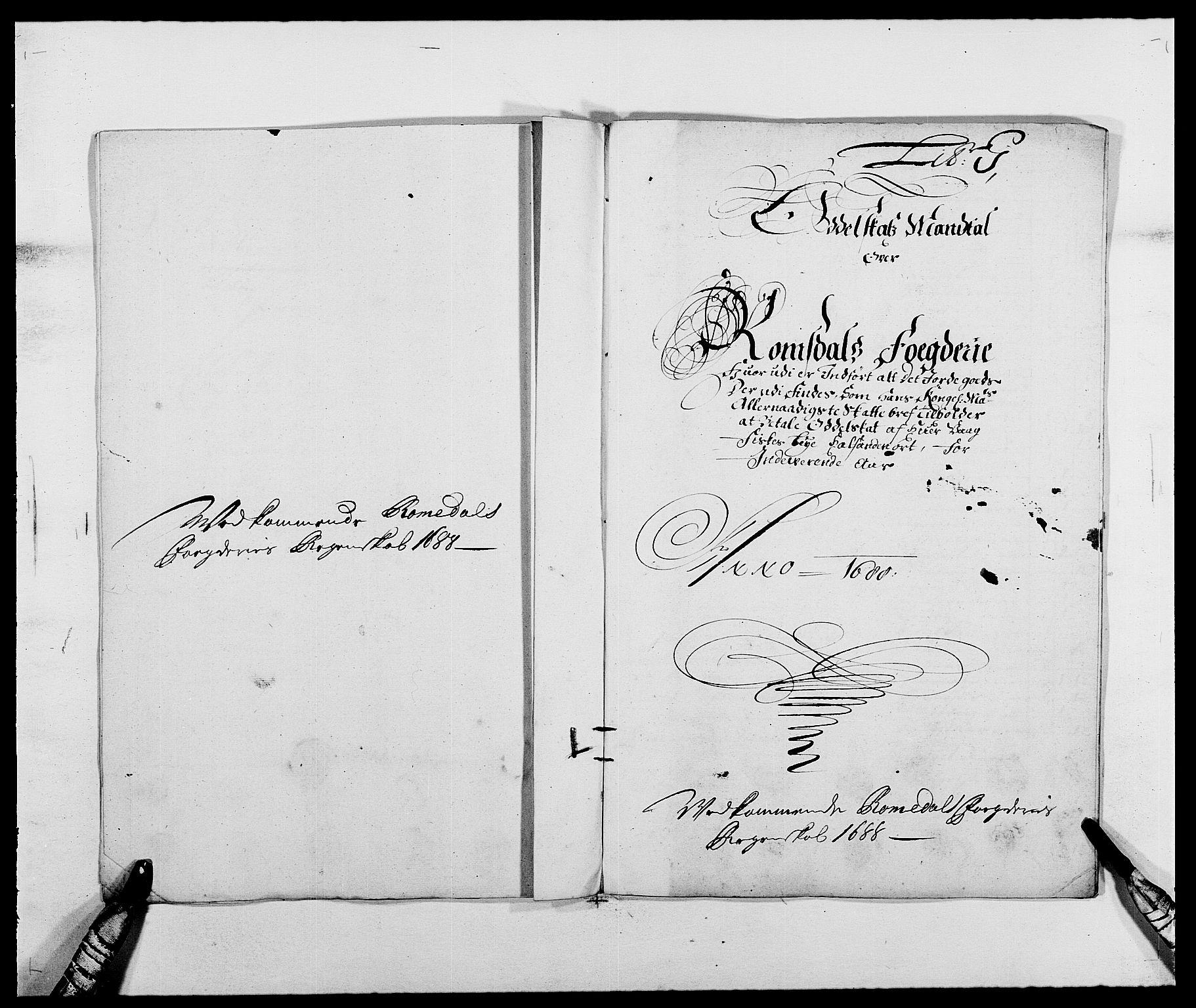 RA, Rentekammeret inntil 1814, Reviderte regnskaper, Fogderegnskap, R55/L3648: Fogderegnskap Romsdal, 1687-1689, s. 227