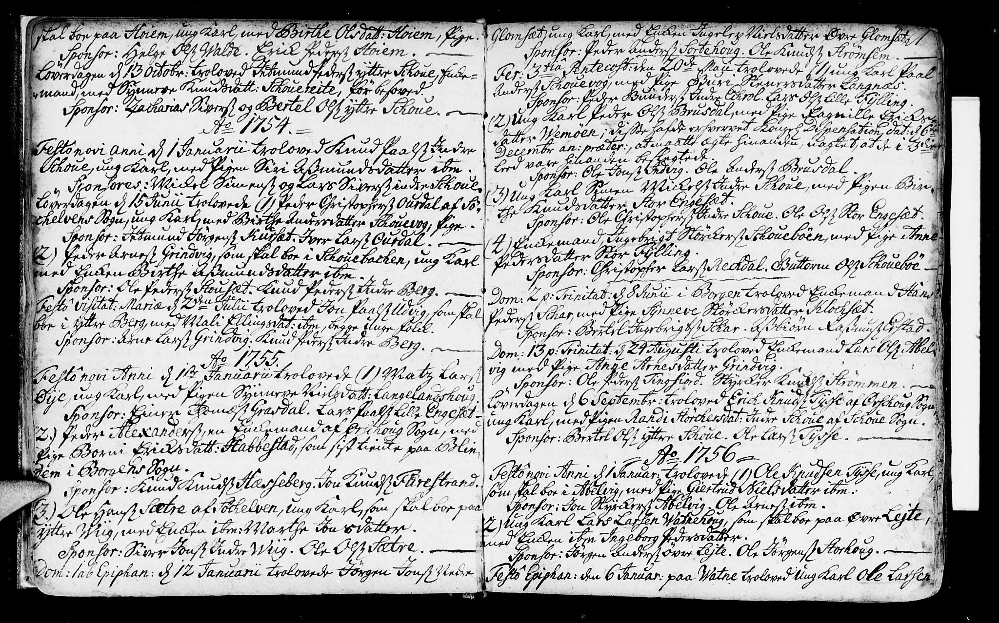 SAT, Ministerialprotokoller, klokkerbøker og fødselsregistre - Møre og Romsdal, 524/L0349: Ministerialbok nr. 524A01, 1698-1779, s. 21
