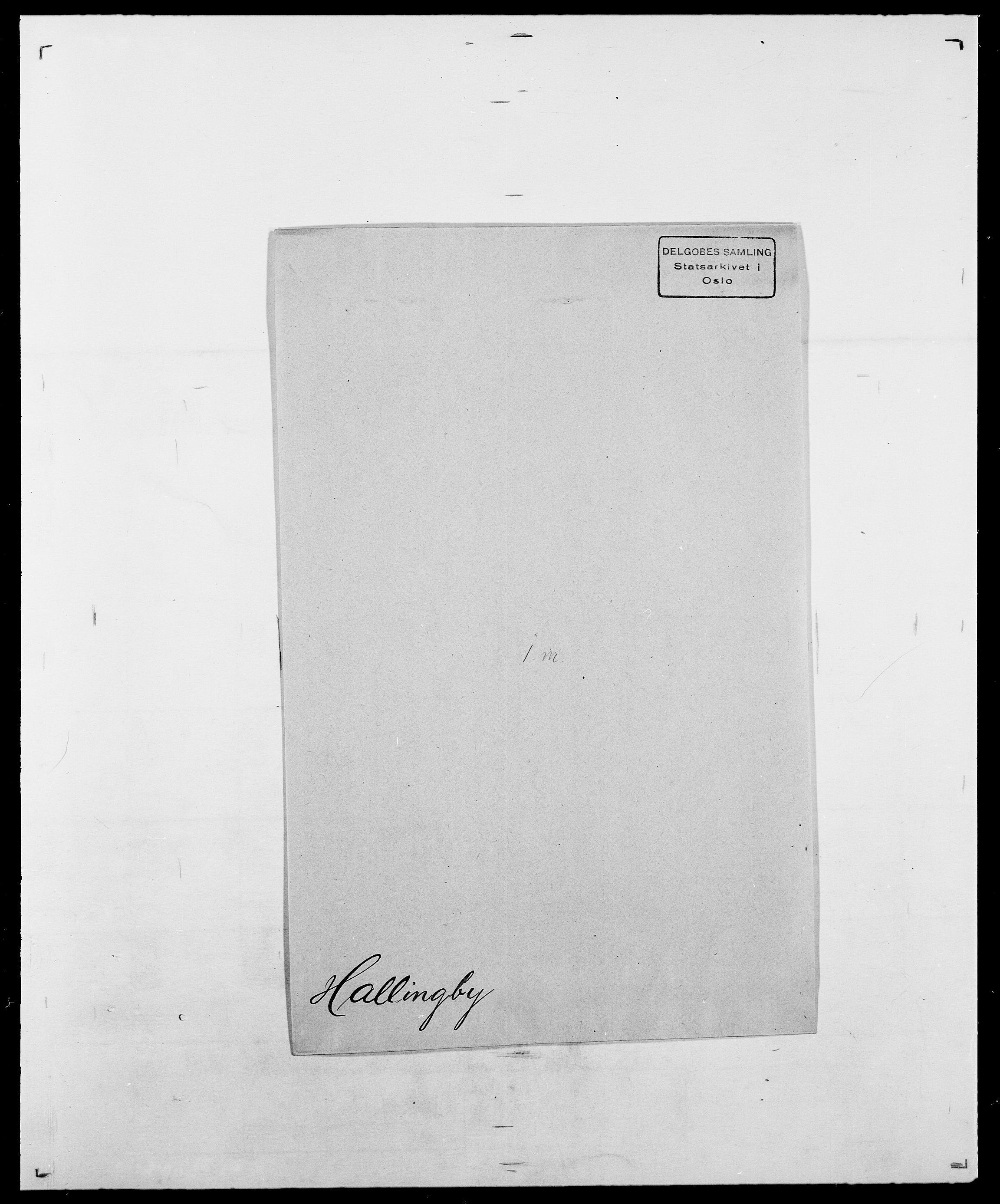 SAO, Delgobe, Charles Antoine - samling, D/Da/L0015: Grodtshilling - Halvorsæth, s. 784