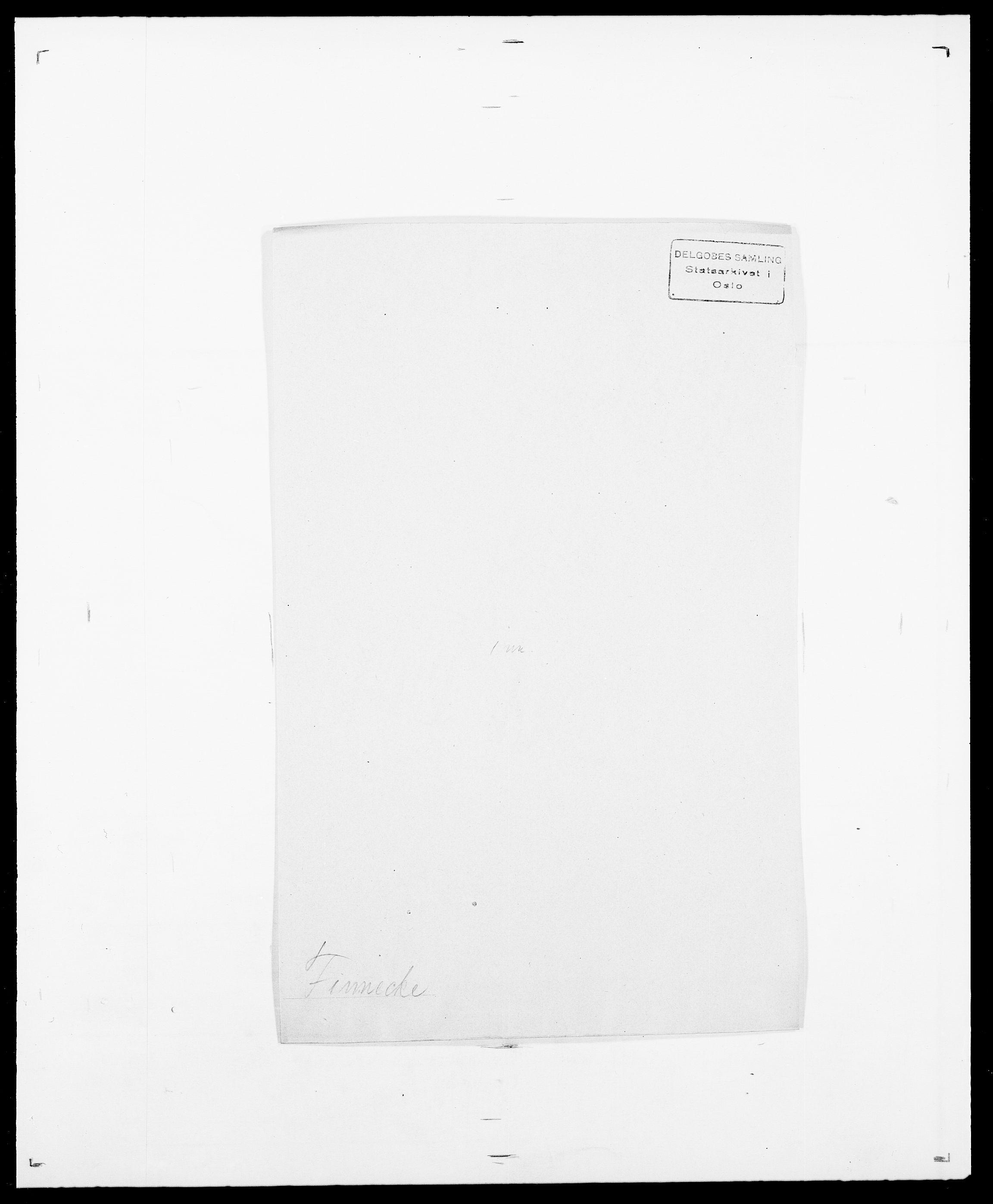 SAO, Delgobe, Charles Antoine - samling, D/Da/L0011: Fahlander - Flood, Flod, s. 506