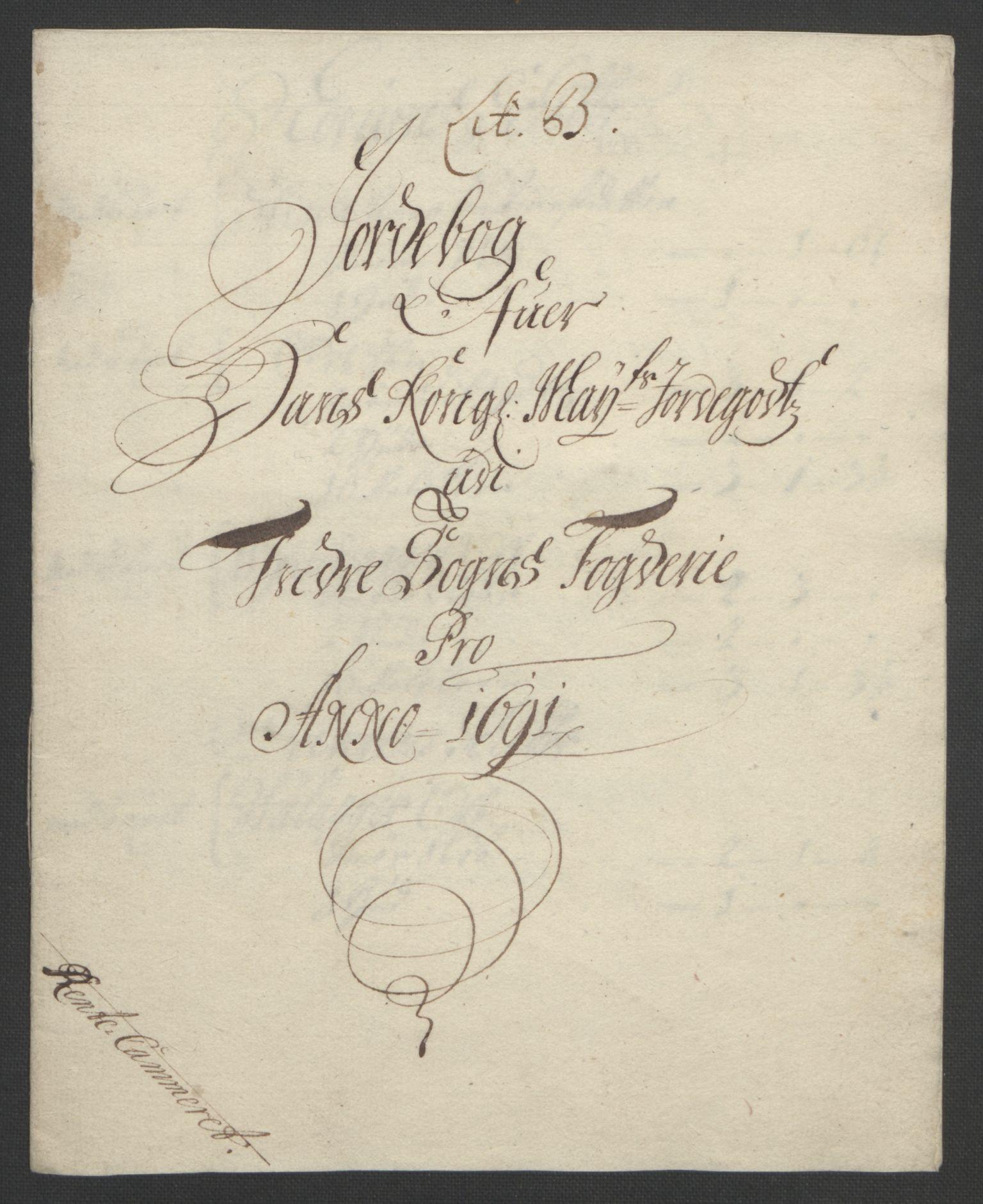 RA, Rentekammeret inntil 1814, Reviderte regnskaper, Fogderegnskap, R52/L3306: Fogderegnskap Sogn, 1691-1692, s. 28