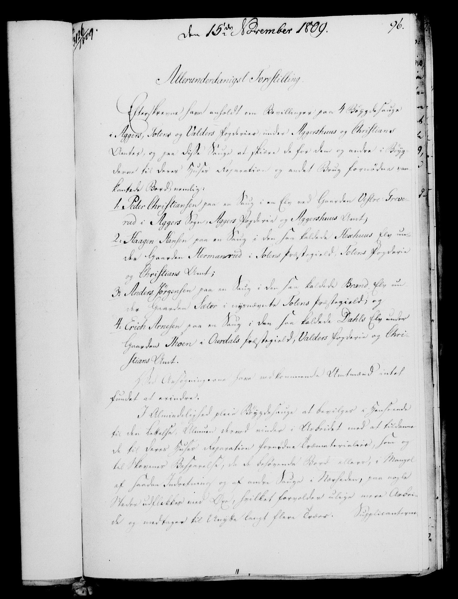 RA, Rentekammeret, Kammerkanselliet, G/Gf/Gfa/L0091: Norsk relasjons- og resolusjonsprotokoll (merket RK 52.91), 1809, s. 377