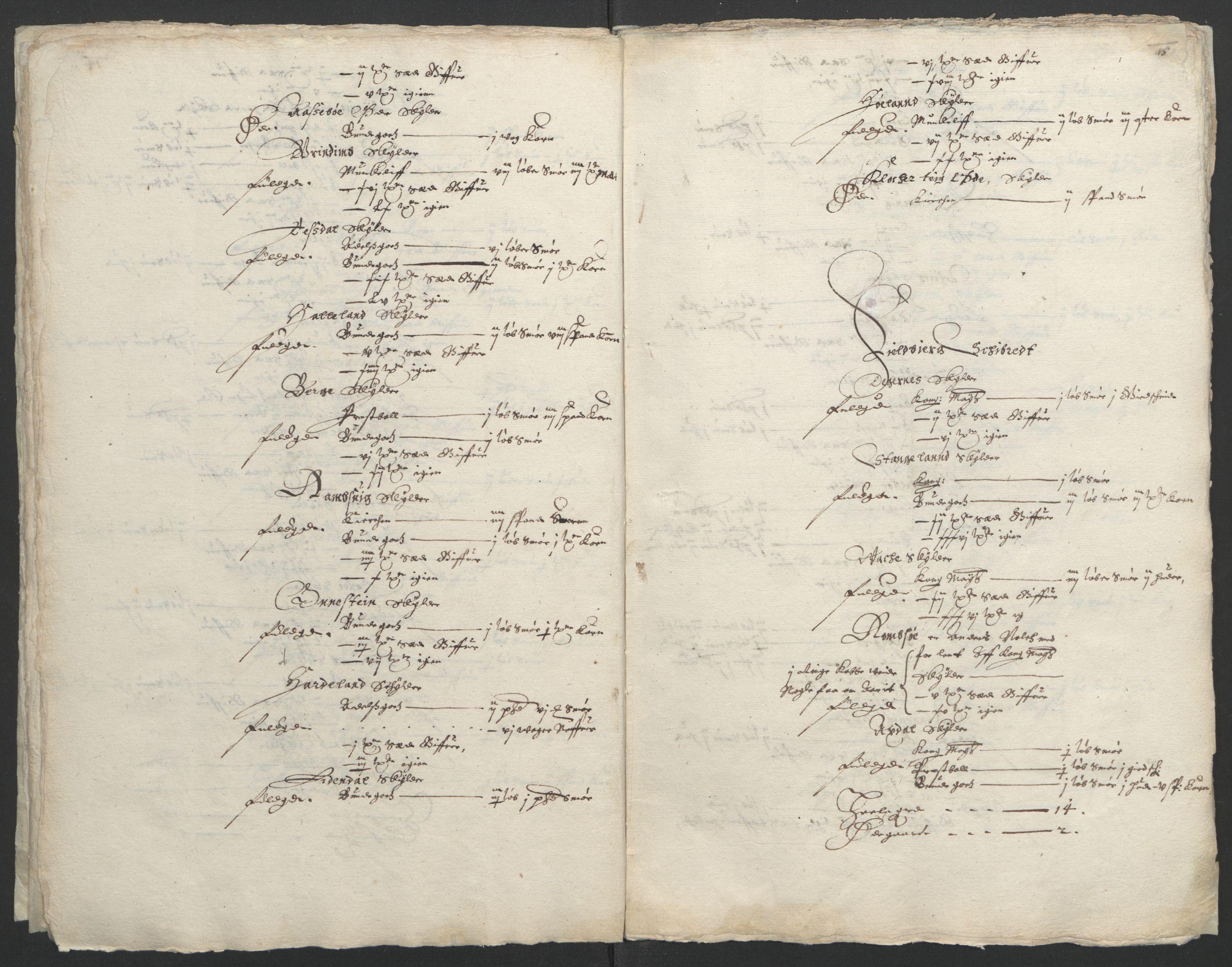 RA, Stattholderembetet 1572-1771, Ek/L0004: Jordebøker til utlikning av garnisonsskatt 1624-1626:, 1626, s. 19
