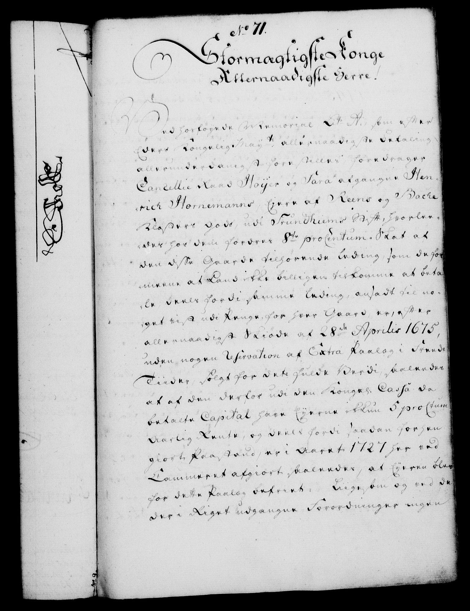 RA, Rentekammeret, Kammerkanselliet, G/Gf/Gfa/L0038: Norsk relasjons- og resolusjonsprotokoll (merket RK 52.38), 1756, s. 357
