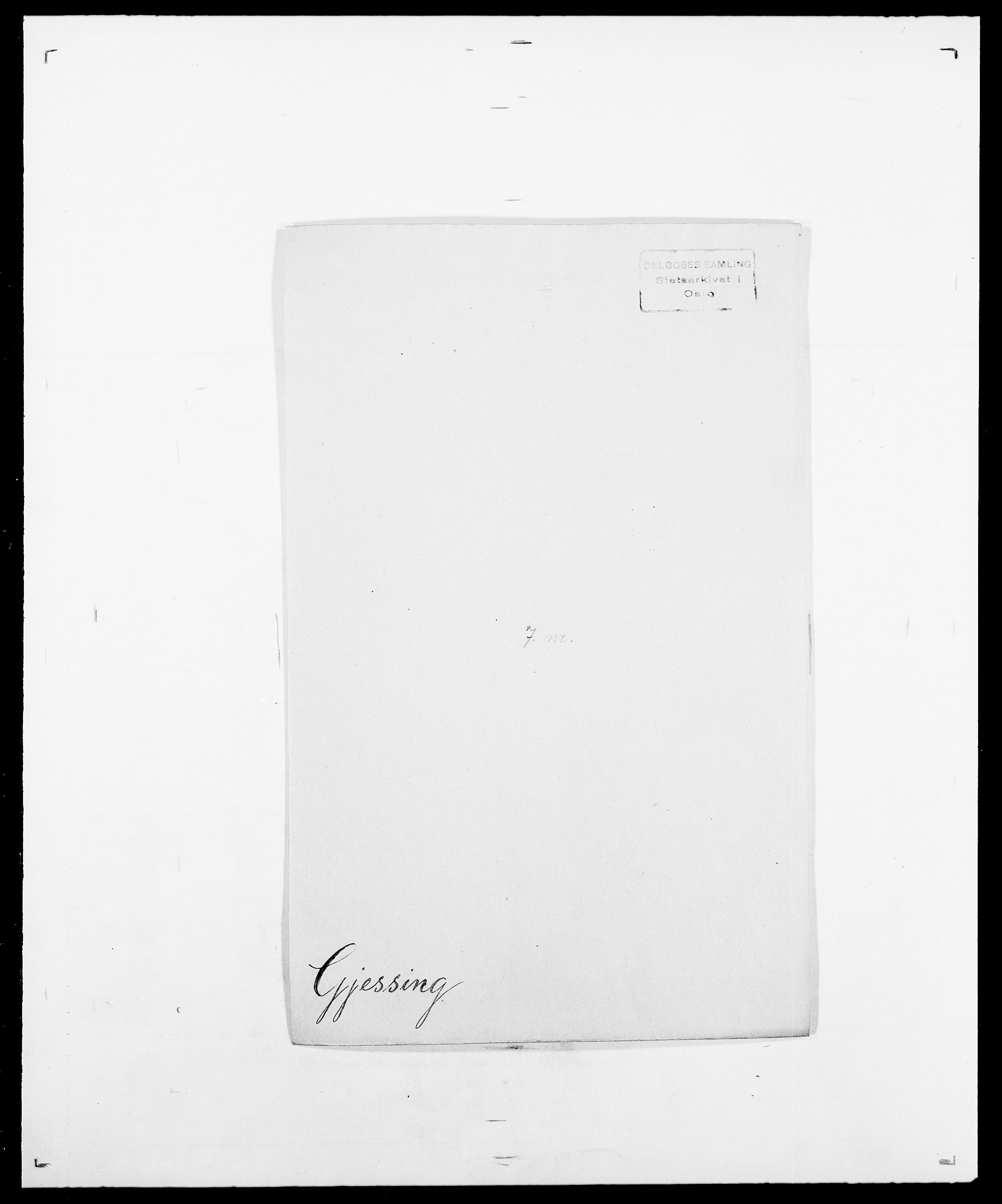SAO, Delgobe, Charles Antoine - samling, D/Da/L0014: Giebdhausen - Grip, s. 185