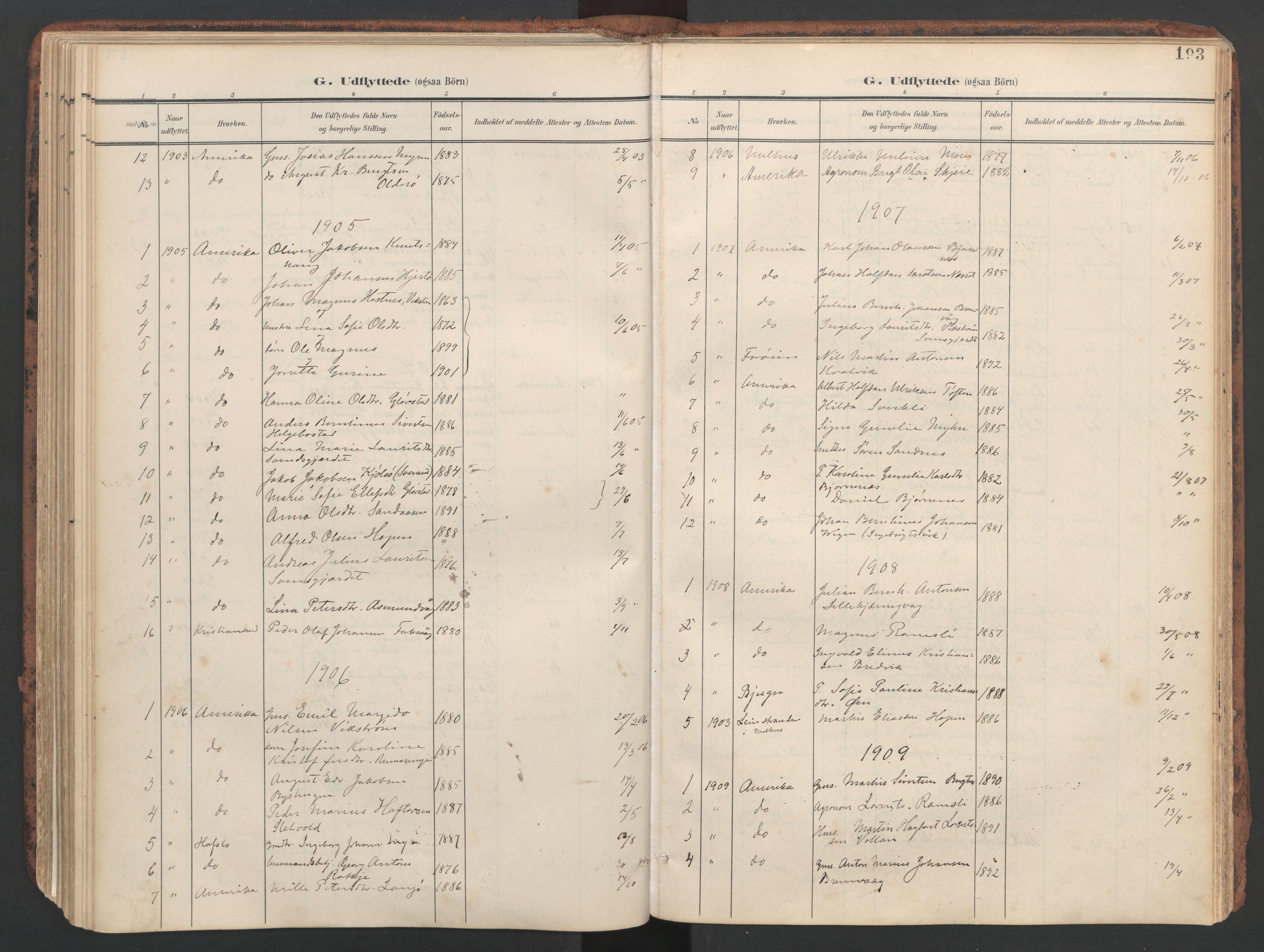 SAT, Ministerialprotokoller, klokkerbøker og fødselsregistre - Sør-Trøndelag, 634/L0537: Ministerialbok nr. 634A13, 1896-1922, s. 193