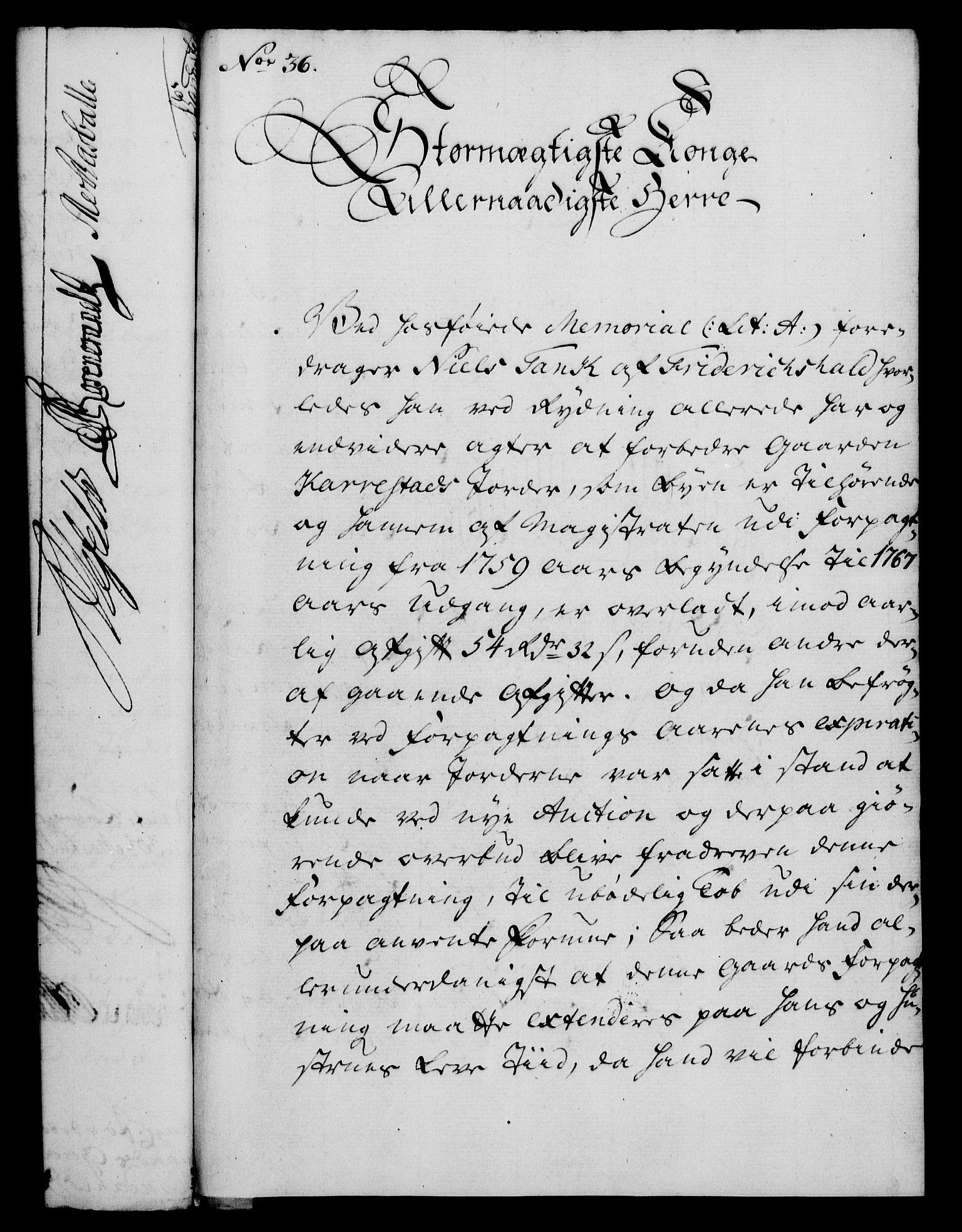 RA, Rentekammeret, Kammerkanselliet, G/Gf/Gfa/L0043: Norsk relasjons- og resolusjonsprotokoll (merket RK 52.43), 1761, s. 150