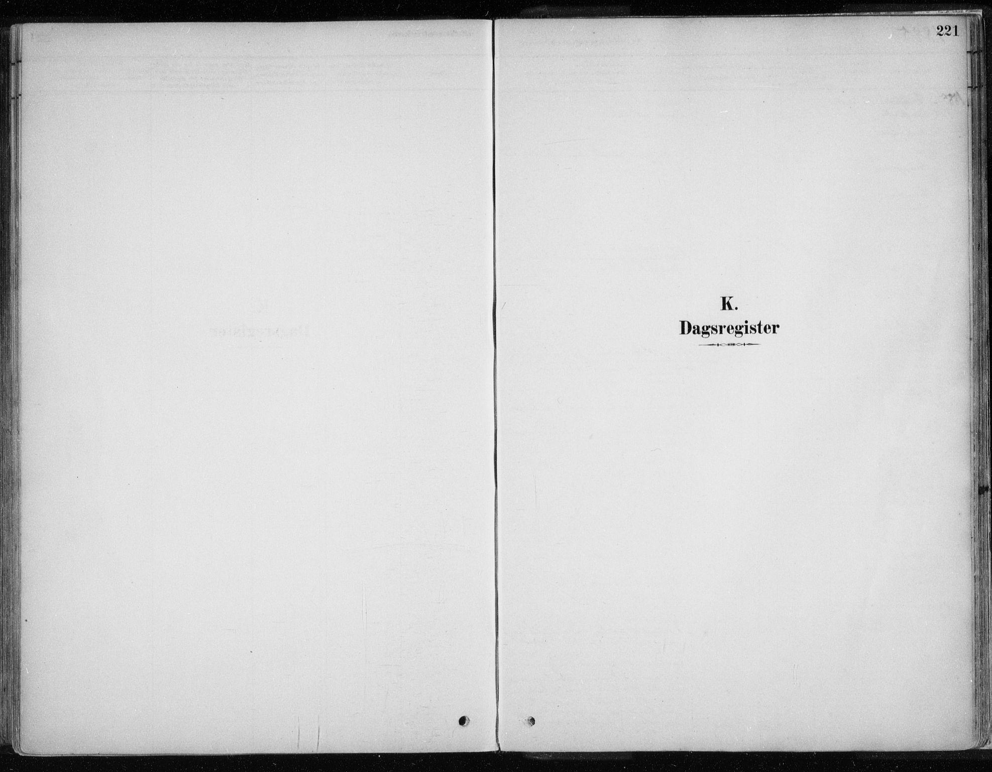 SATØ, Karasjok sokneprestkontor, H/Ha/L0002kirke: Ministerialbok nr. 2, 1885-1906, s. 221