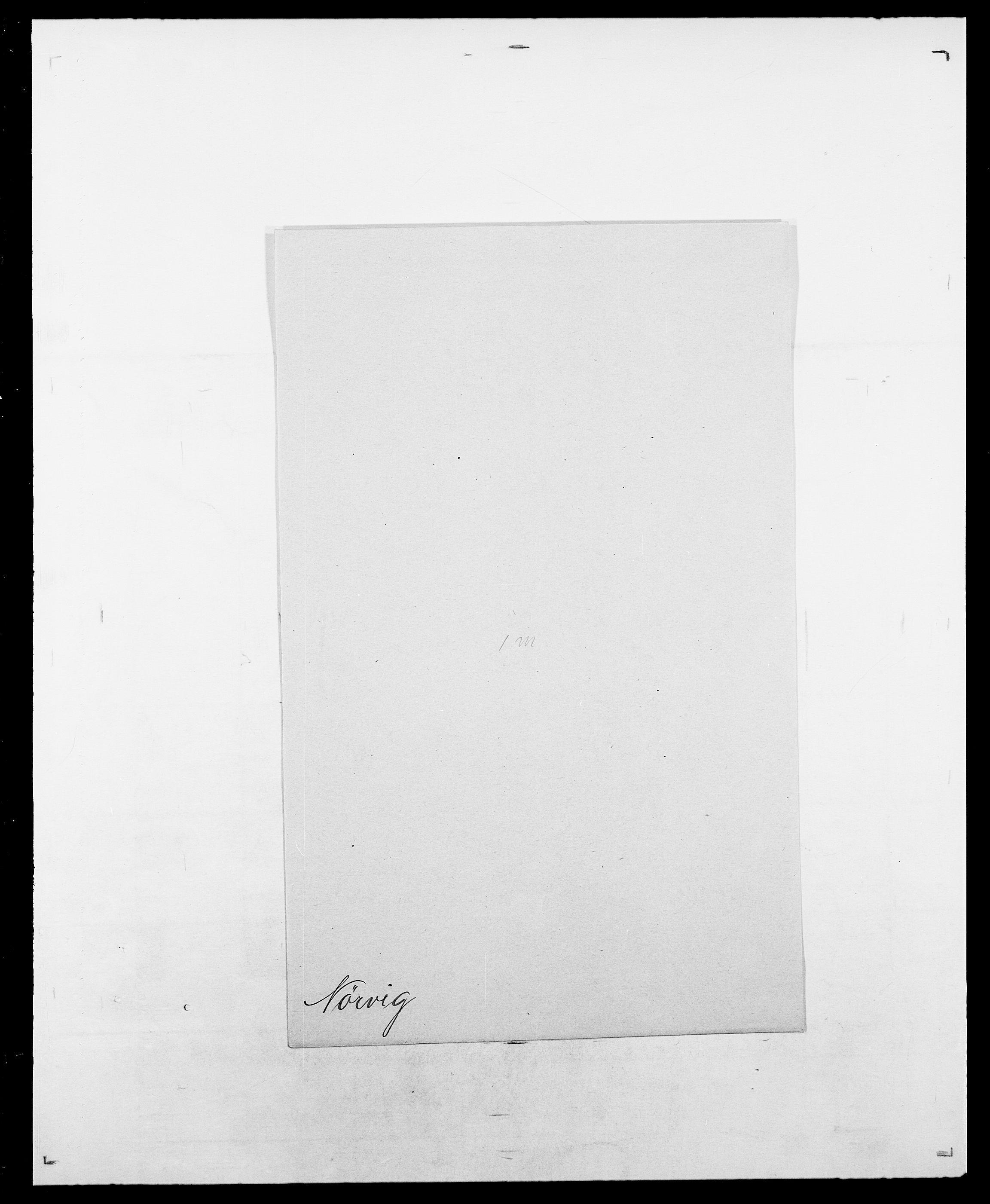 SAO, Delgobe, Charles Antoine - samling, D/Da/L0028: Naaden - Nøvik, s. 664