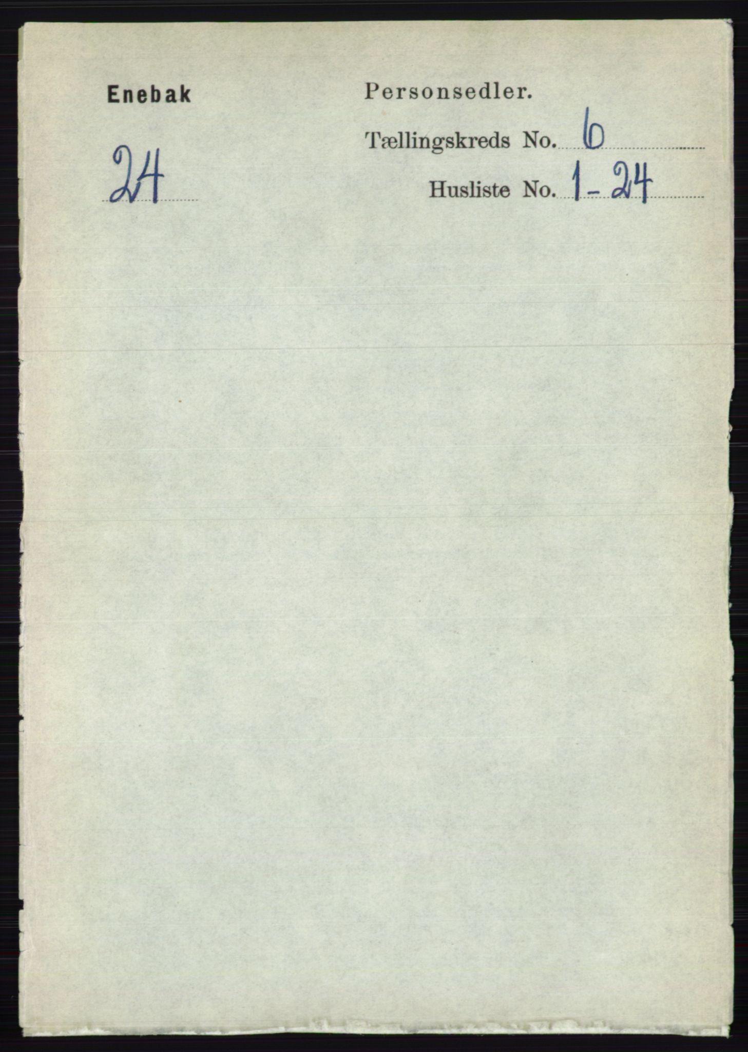 RA, Folketelling 1891 for 0229 Enebakk herred, 1891, s. 2897