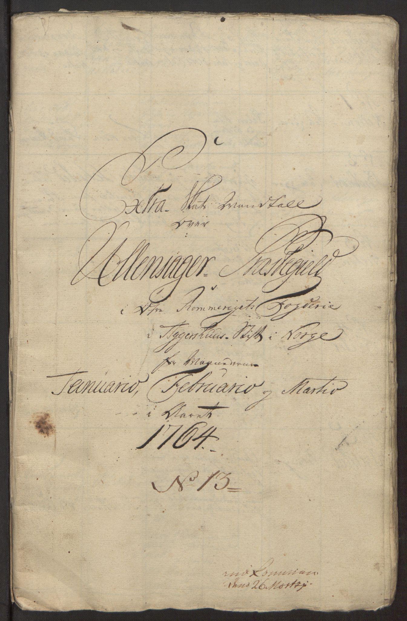 RA, Rentekammeret inntil 1814, Reviderte regnskaper, Fogderegnskap, R12/L0803: Ekstraskatten Øvre Romerike, 1763-1764, s. 330