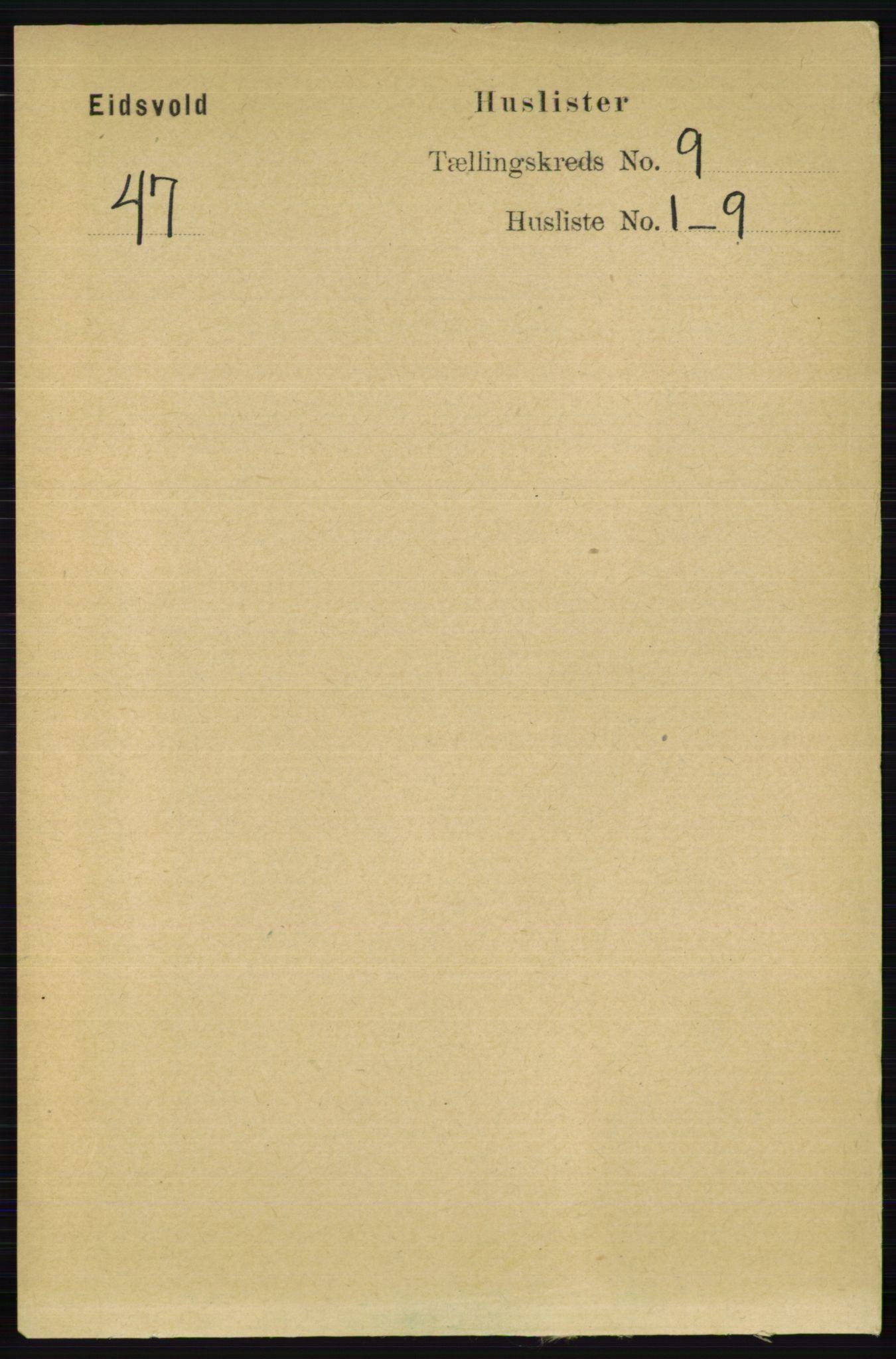 RA, Folketelling 1891 for 0237 Eidsvoll herred, 1891, s. 6522