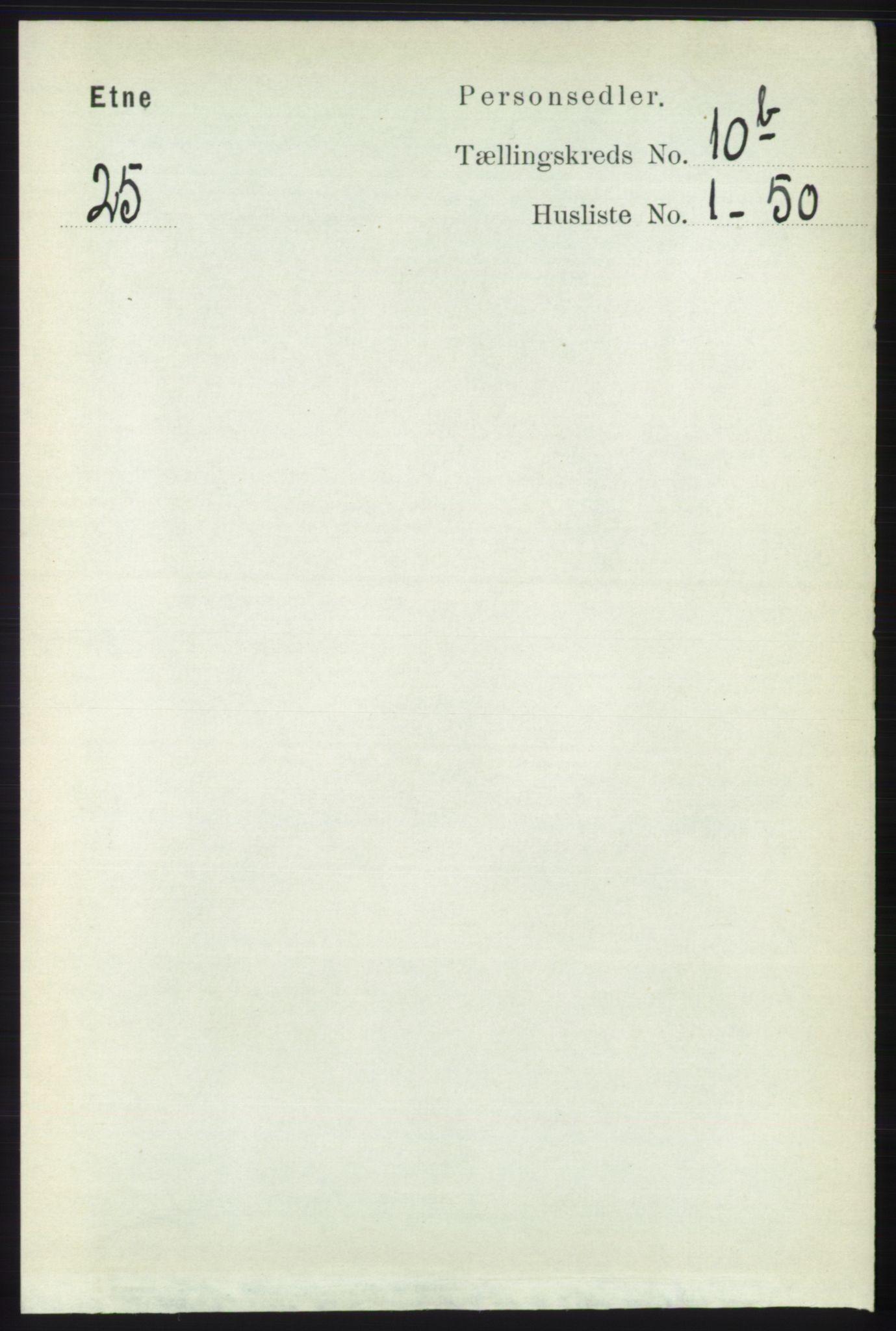 RA, Folketelling 1891 for 1211 Etne herred, 1891, s. 2003