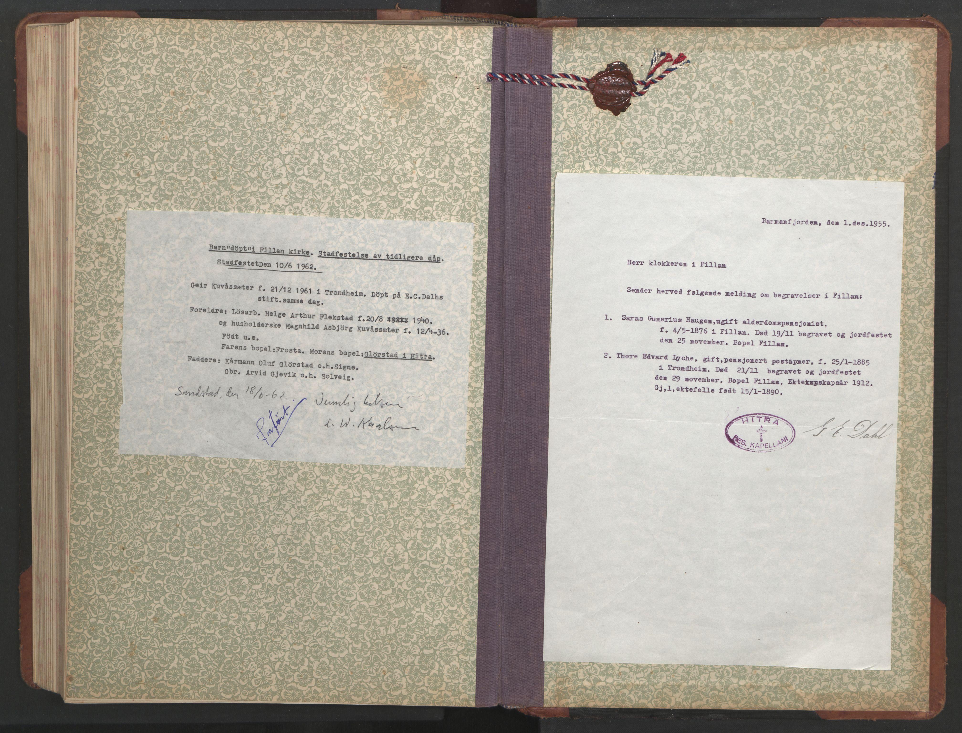 SAT, Ministerialprotokoller, klokkerbøker og fødselsregistre - Sør-Trøndelag, 637/L0564: Klokkerbok nr. 637C05, 1928-1968, s. 247