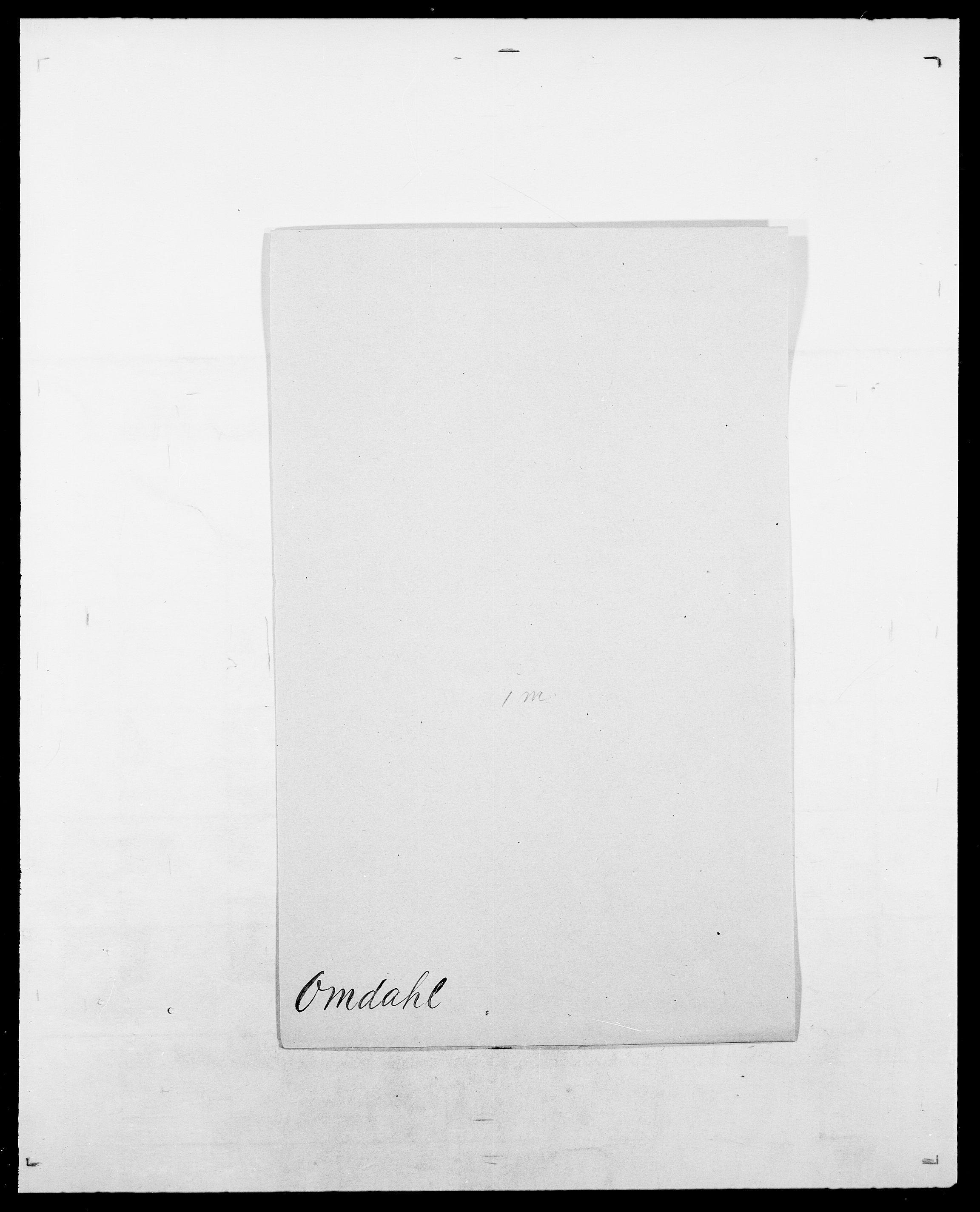SAO, Delgobe, Charles Antoine - samling, D/Da/L0029: Obel - Oxholm, s. 269