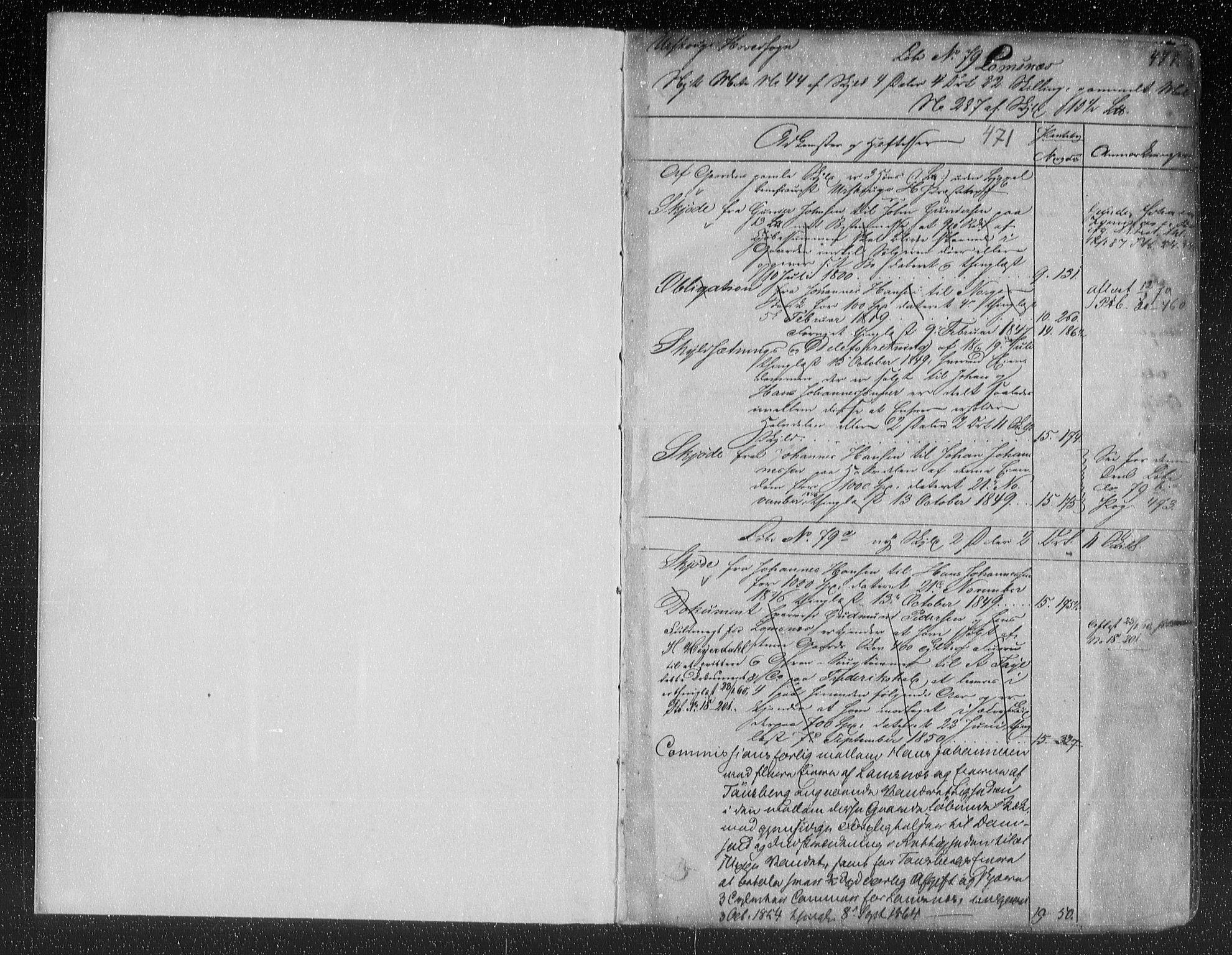 SAO, Nes tingrett, G/Ga/Gab/Gaba/L0012.b: Panteregister nr. I 12b, s. 471
