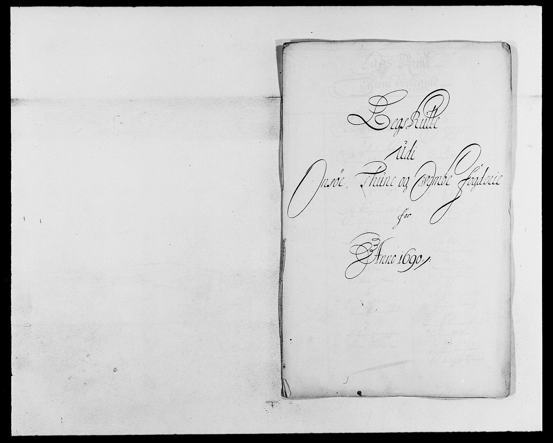 RA, Rentekammeret inntil 1814, Reviderte regnskaper, Fogderegnskap, R03/L0119: Fogderegnskap Onsøy, Tune, Veme og Åbygge fogderi, 1690-1691, s. 138