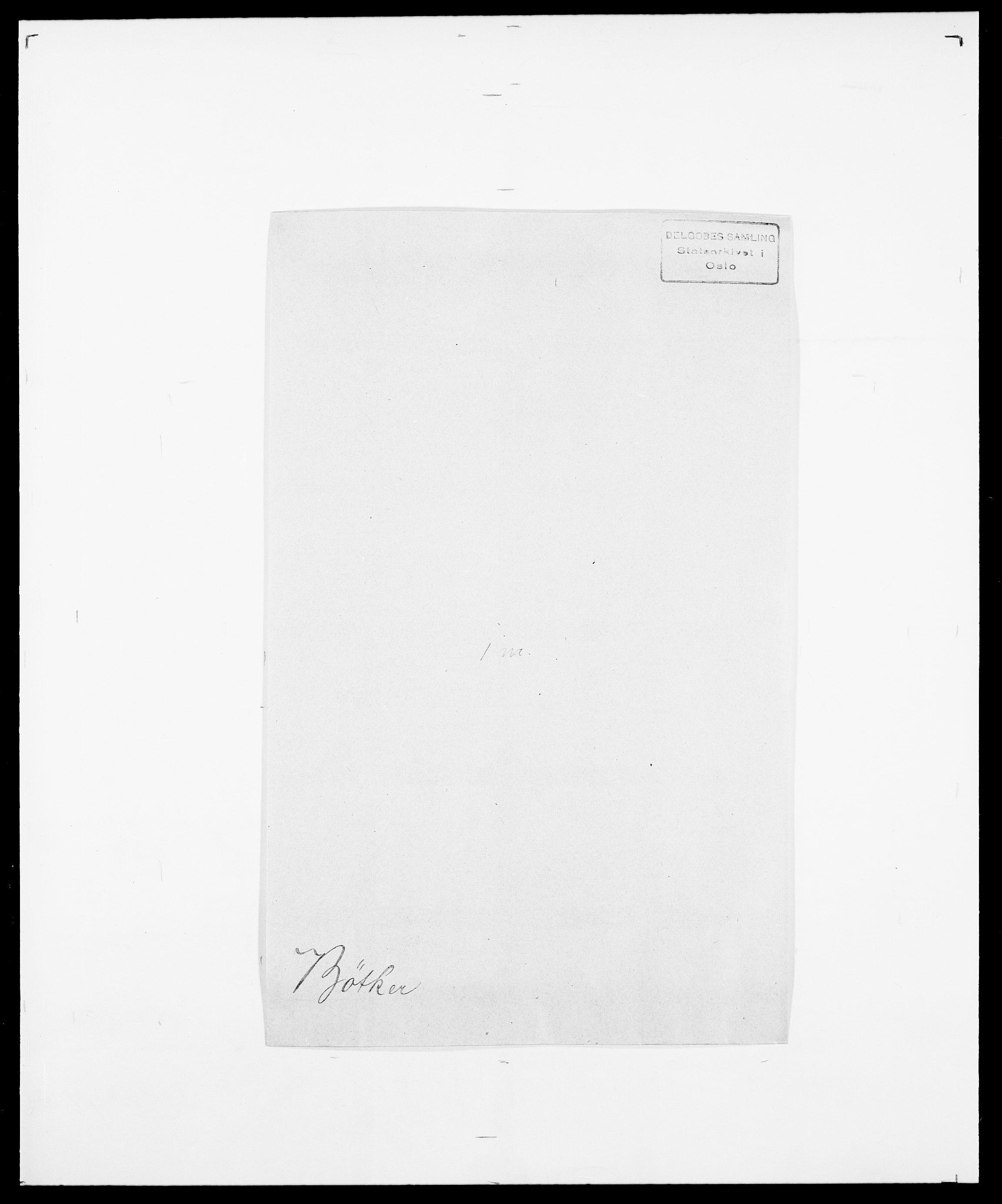 SAO, Delgobe, Charles Antoine - samling, D/Da/L0007: Buaas - Caphengst, s. 802