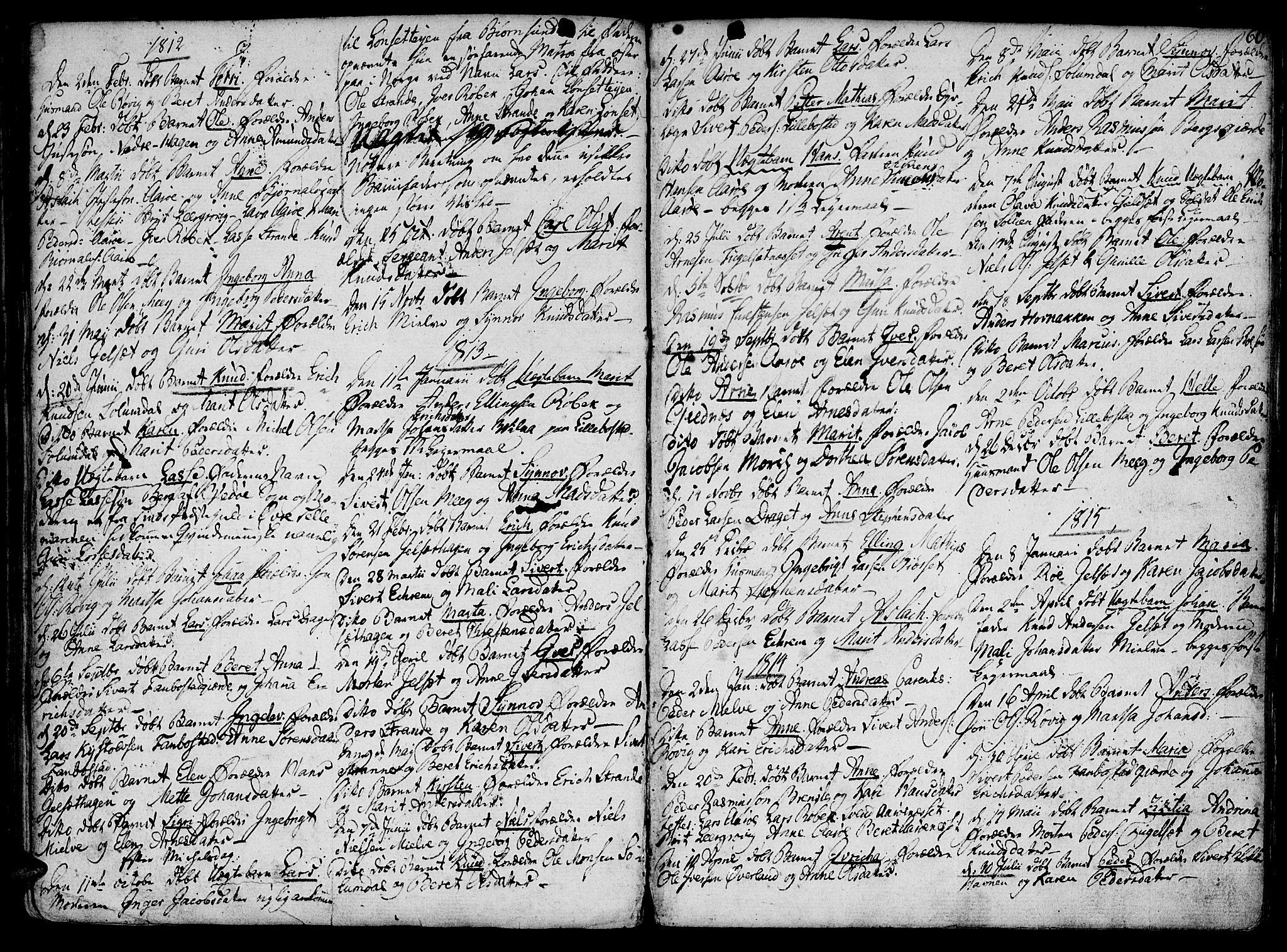 SAT, Ministerialprotokoller, klokkerbøker og fødselsregistre - Møre og Romsdal, 555/L0649: Ministerialbok nr. 555A02 /1, 1795-1821, s. 60