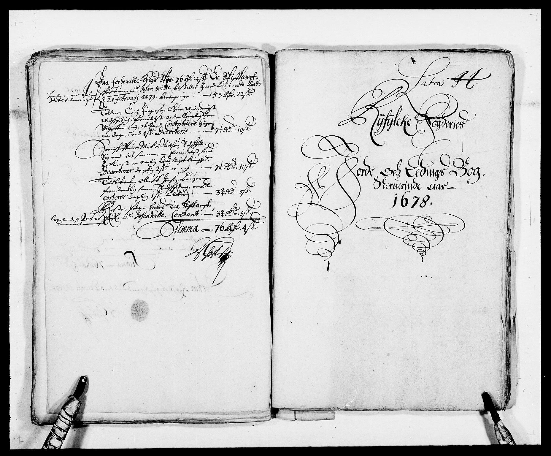 RA, Rentekammeret inntil 1814, Reviderte regnskaper, Fogderegnskap, R47/L2848: Fogderegnskap Ryfylke, 1678, s. 247