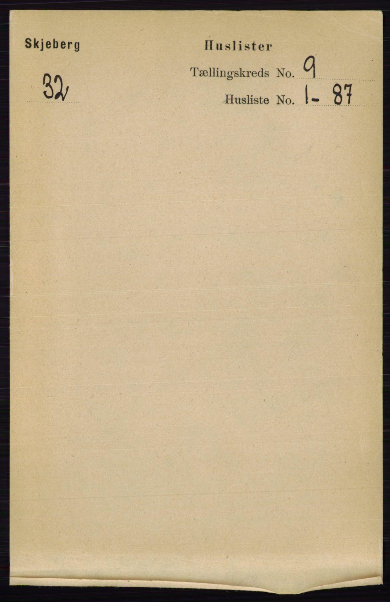 RA, Folketelling 1891 for 0115 Skjeberg herred, 1891, s. 4578