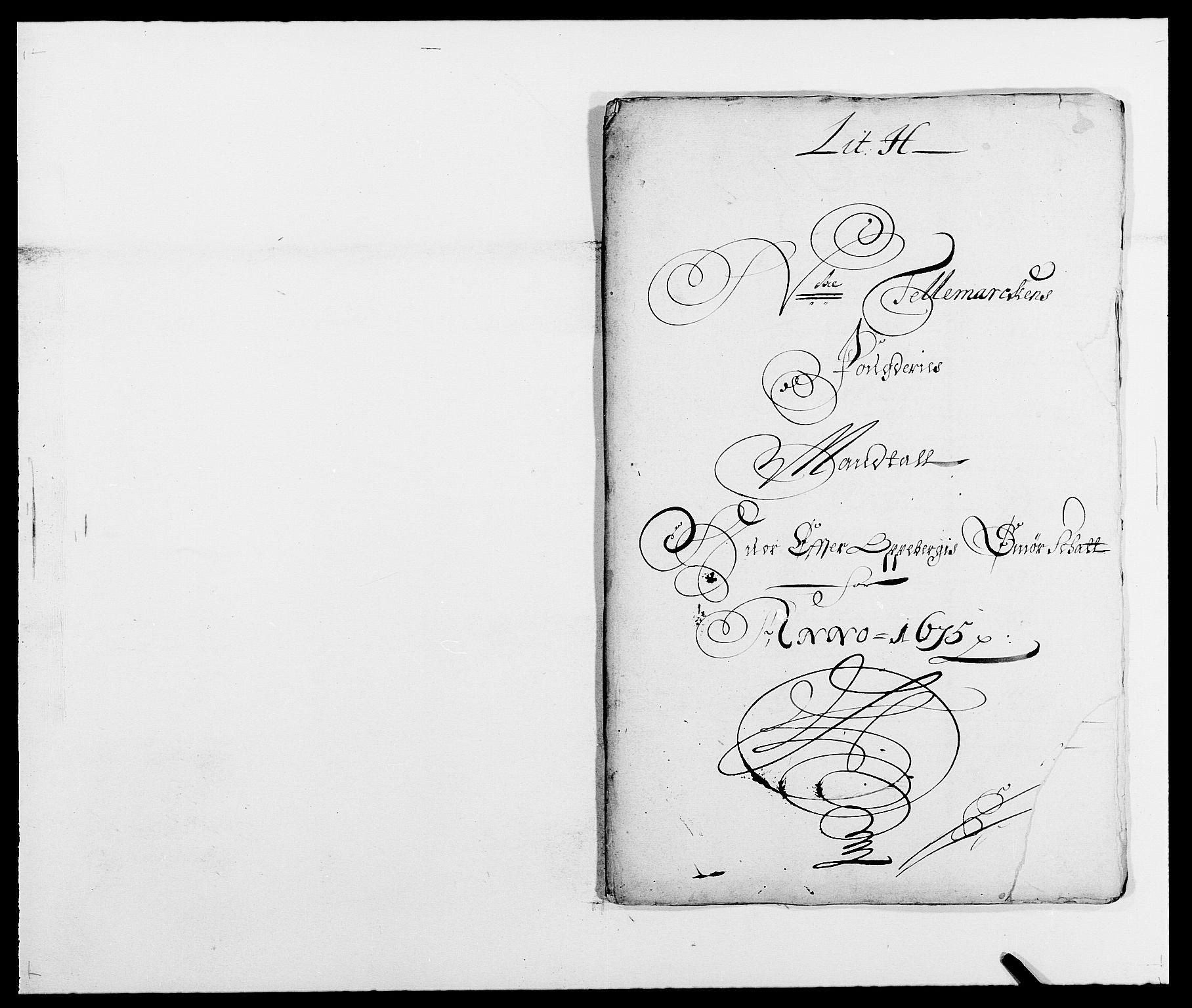 RA, Rentekammeret inntil 1814, Reviderte regnskaper, Fogderegnskap, R35/L2063: Fogderegnskap Øvre og Nedre Telemark, 1675, s. 172