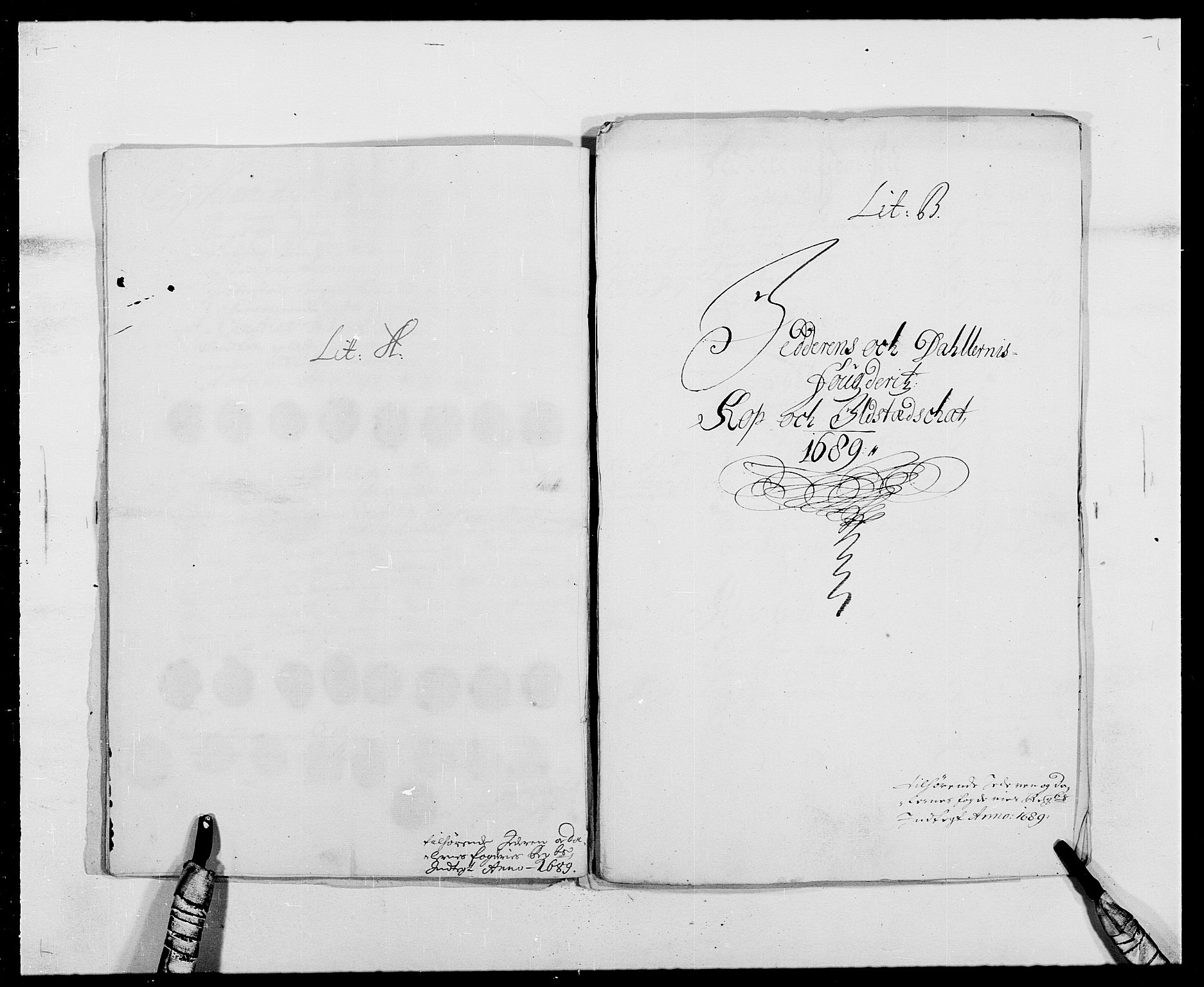 RA, Rentekammeret inntil 1814, Reviderte regnskaper, Fogderegnskap, R46/L2726: Fogderegnskap Jæren og Dalane, 1686-1689, s. 341