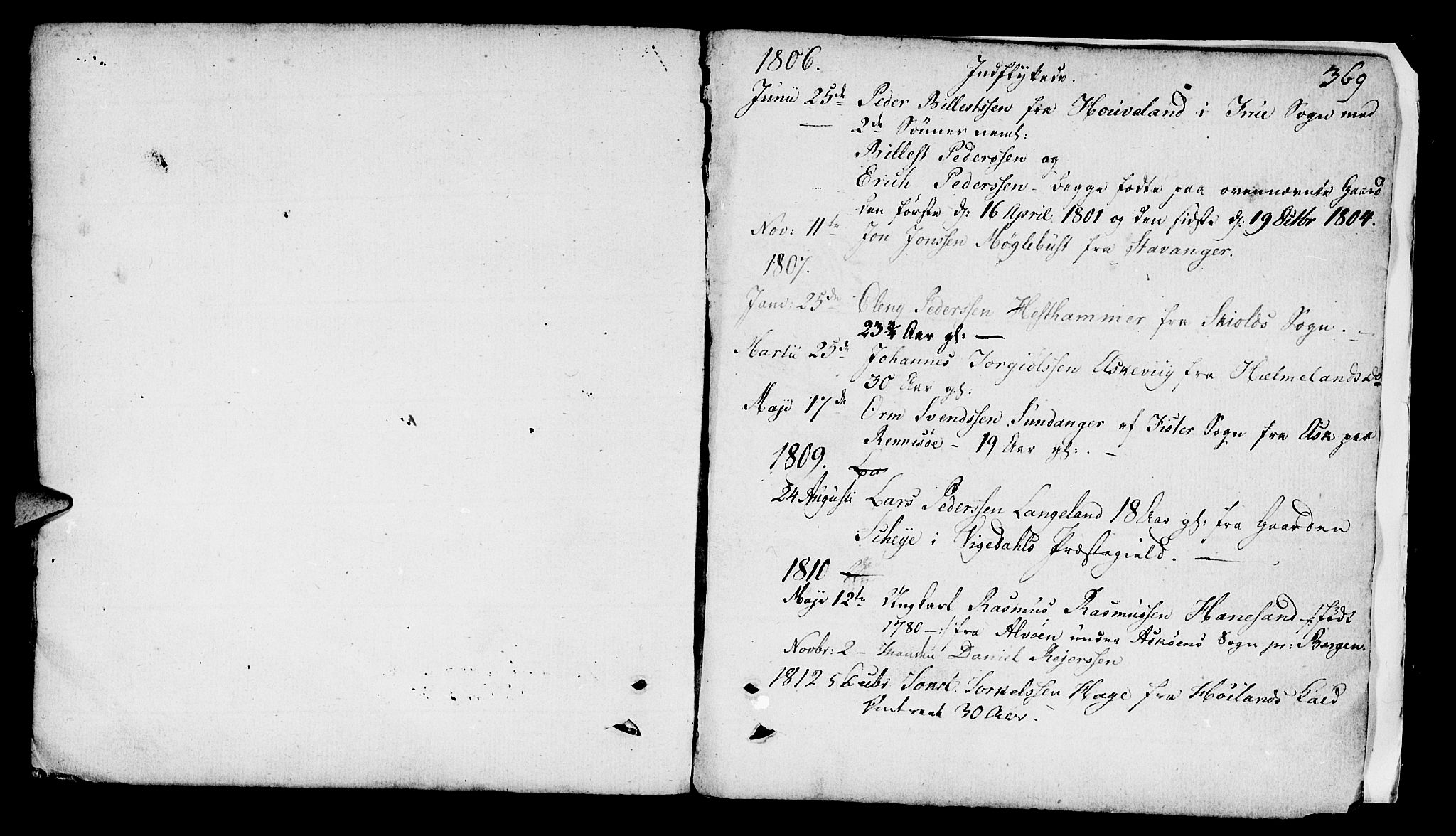 SAST, Finnøy sokneprestkontor, H/Ha/Haa/L0005: Ministerialbok nr. A 5, 1773-1816, s. 369