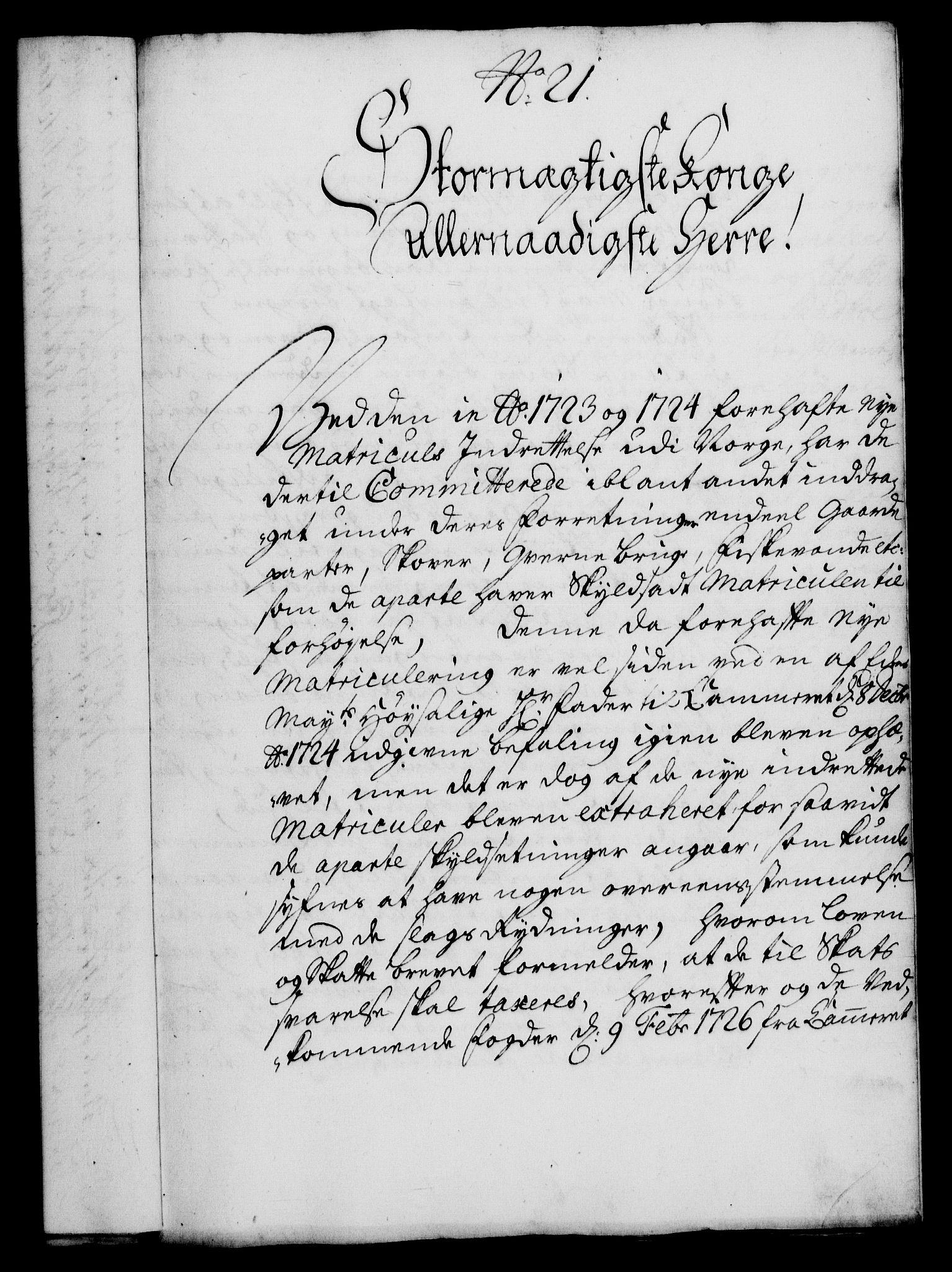 RA, Rentekammeret, Kammerkanselliet, G/Gf/Gfa/L0017: Norsk relasjons- og resolusjonsprotokoll (merket RK 52.17), 1734, s. 128