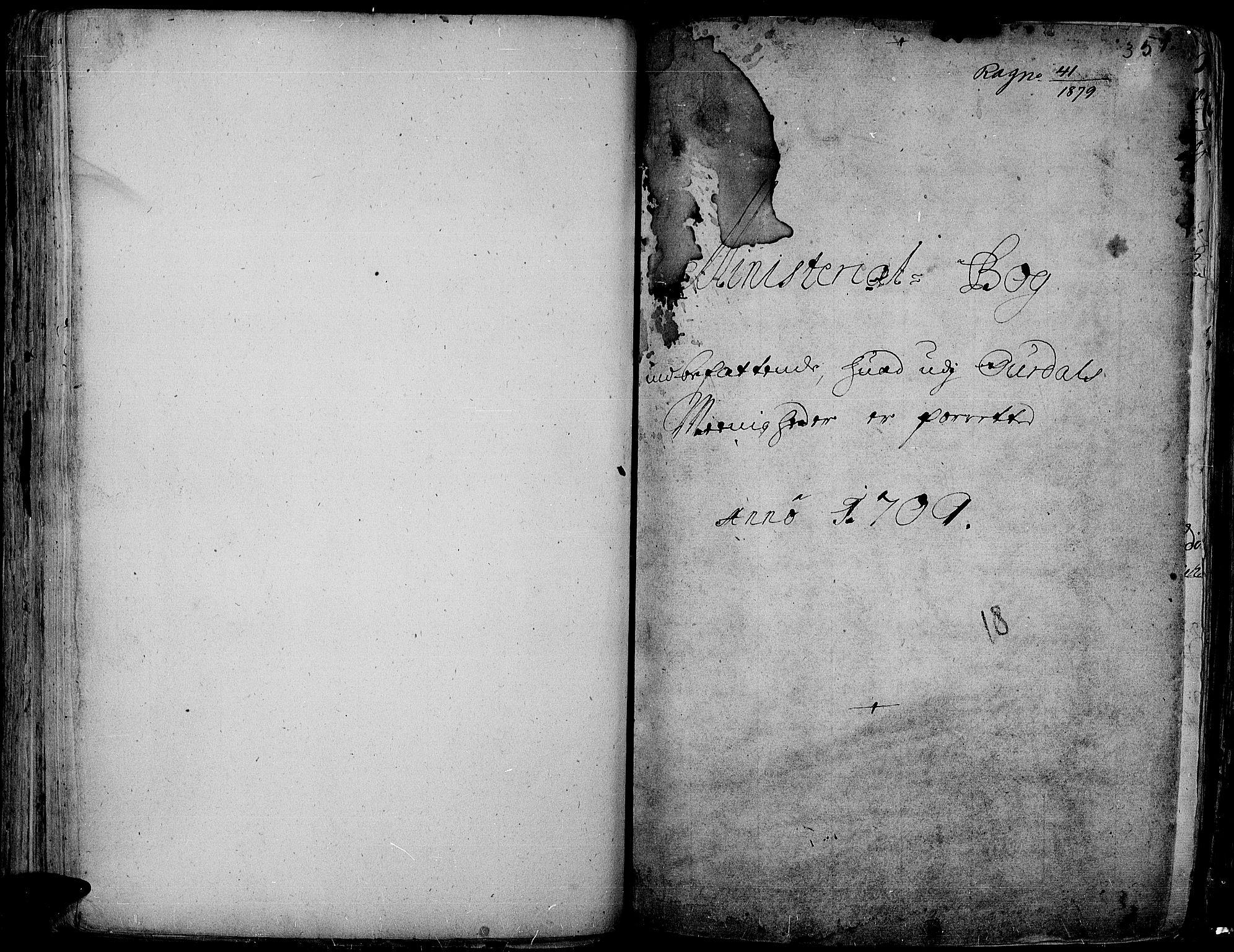SAH, Aurdal prestekontor, Ministerialbok nr. 1-3, 1692-1730, s. 351