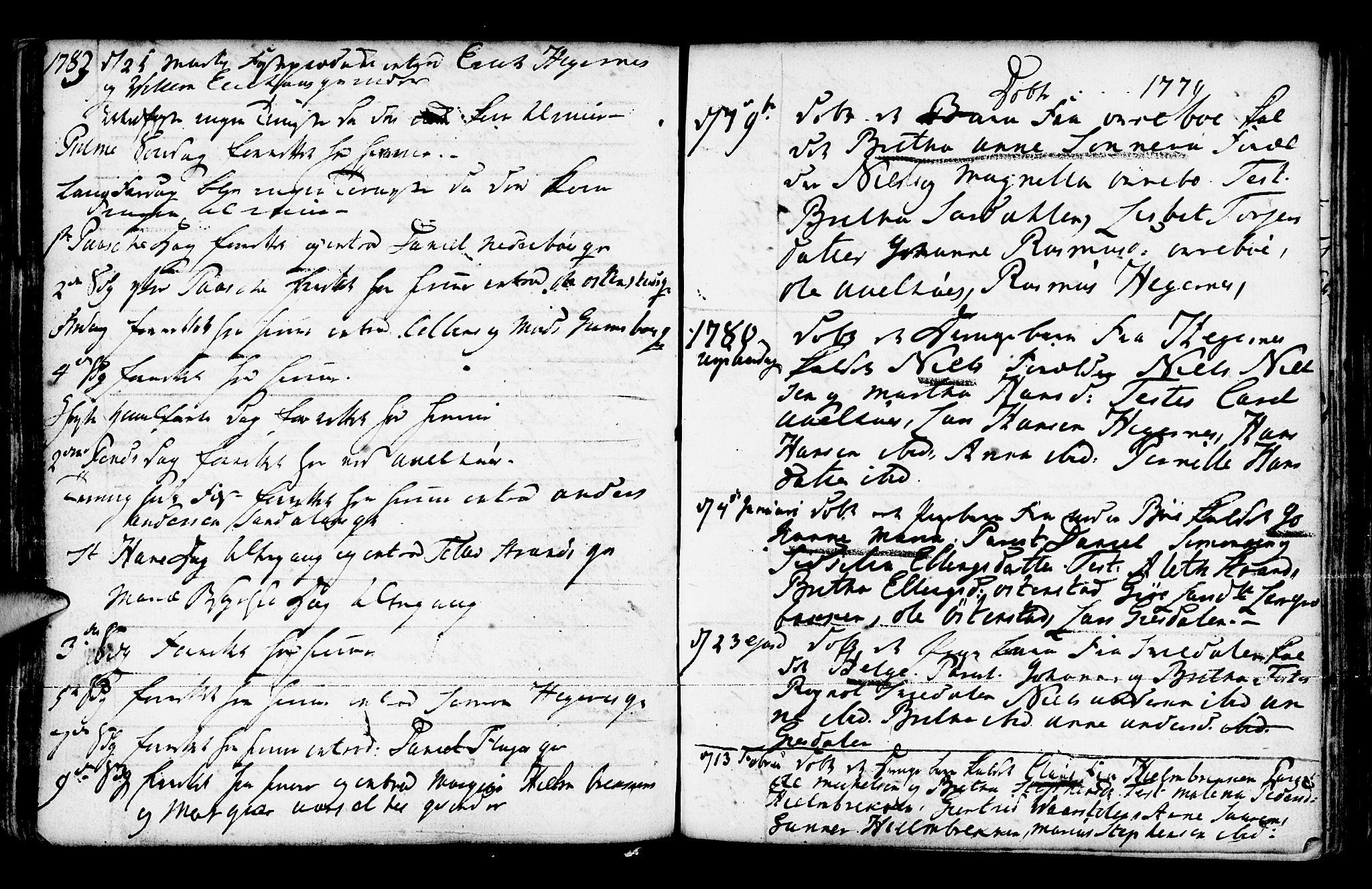 SAB, Jølster Sokneprestembete, Ministerialbok nr. A 3, 1748-1789, s. 176