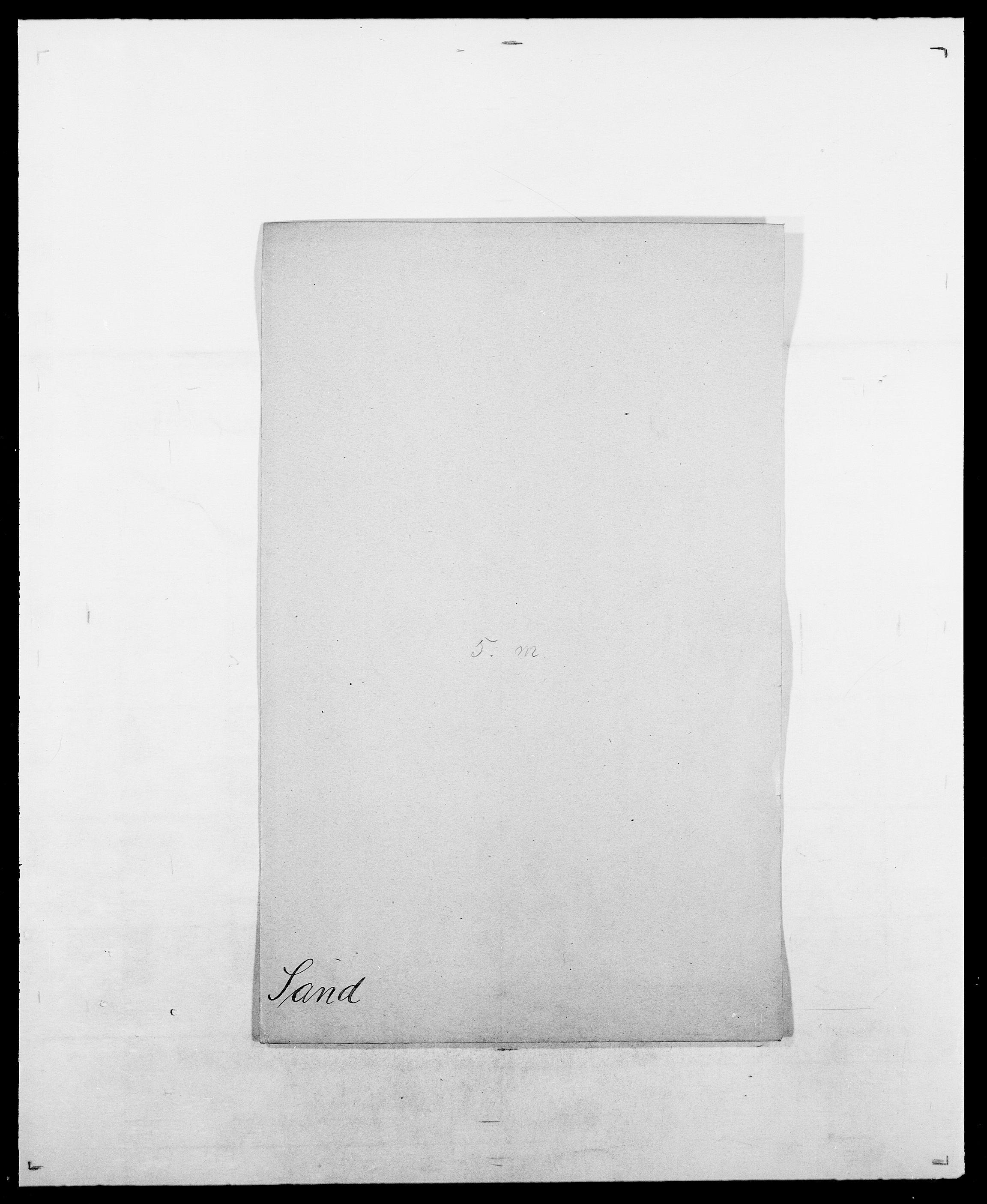 SAO, Delgobe, Charles Antoine - samling, D/Da/L0034: Saabye - Schmincke, s. 105