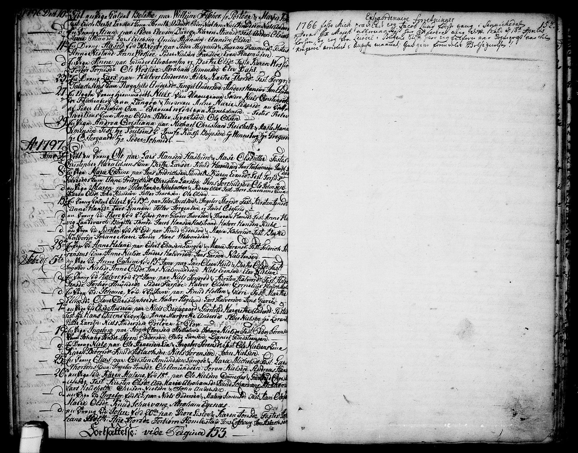 SAKO, Sannidal kirkebøker, F/Fa/L0002: Ministerialbok nr. 2, 1767-1802, s. 152