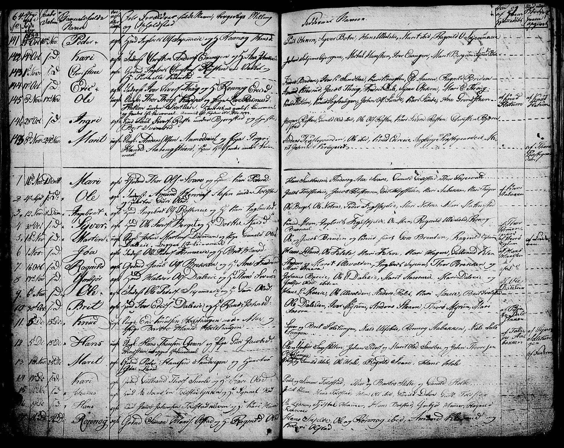 SAH, Vågå prestekontor, Ministerialbok nr. 4 /1, 1827-1842, s. 64