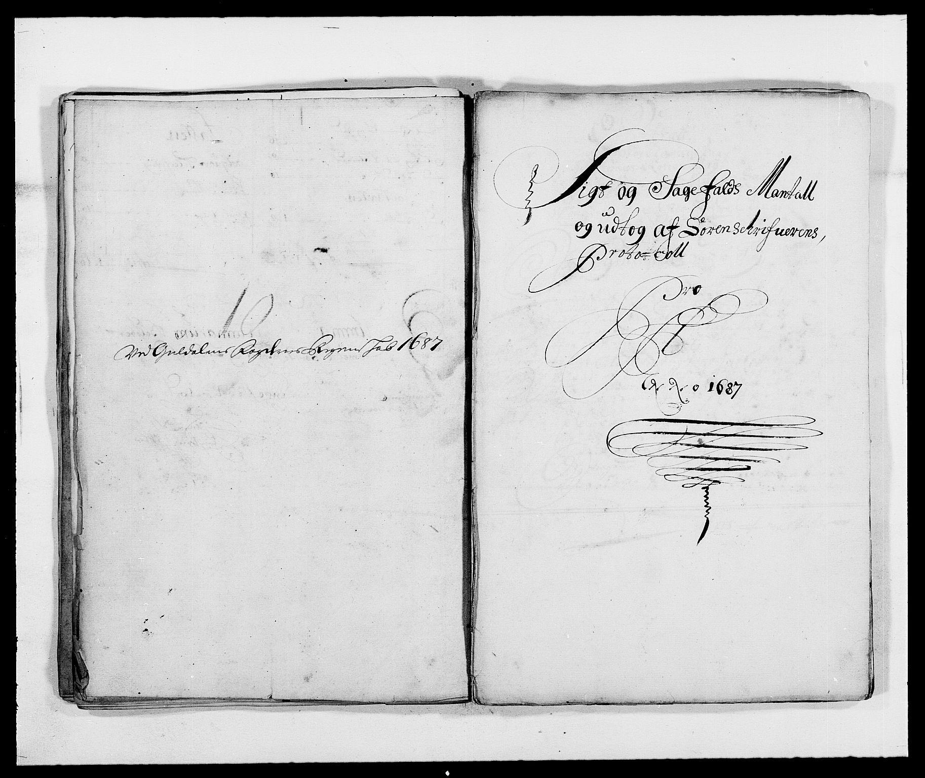 RA, Rentekammeret inntil 1814, Reviderte regnskaper, Fogderegnskap, R59/L3939: Fogderegnskap Gauldal, 1687-1688, s. 46
