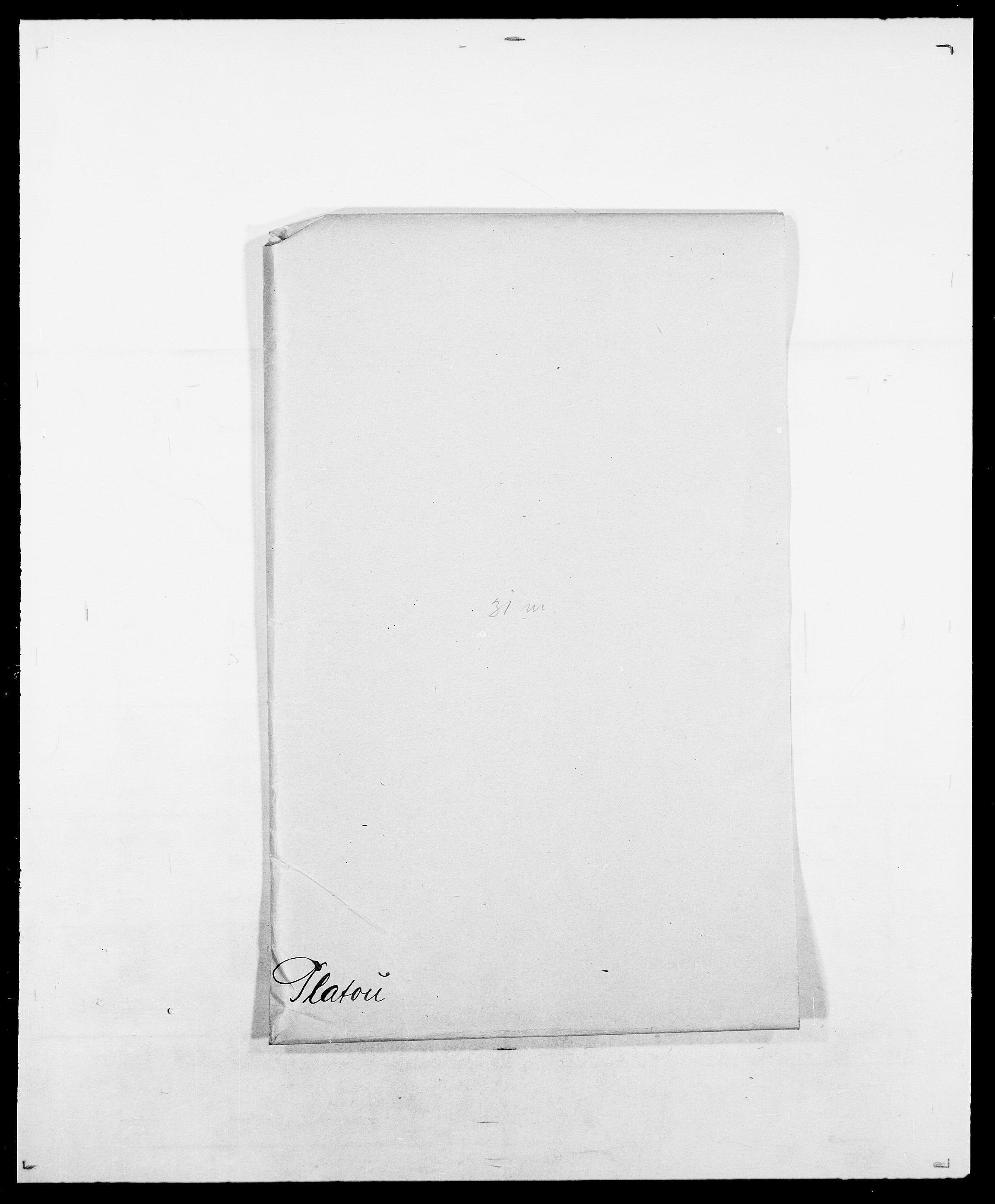 SAO, Delgobe, Charles Antoine - samling, D/Da/L0031: de Place - Raaum, s. 37