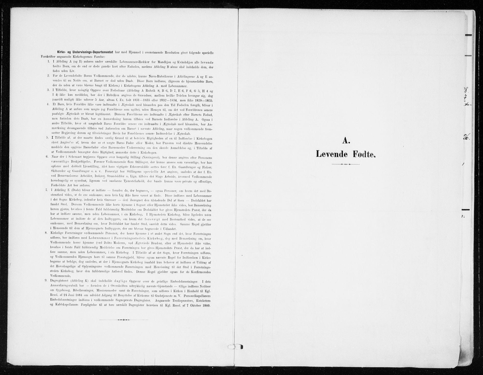 SAO, Jakob prestekontor Kirkebøker, F/Fa/L0005b: Ministerialbok nr. 5b, 1904-1922