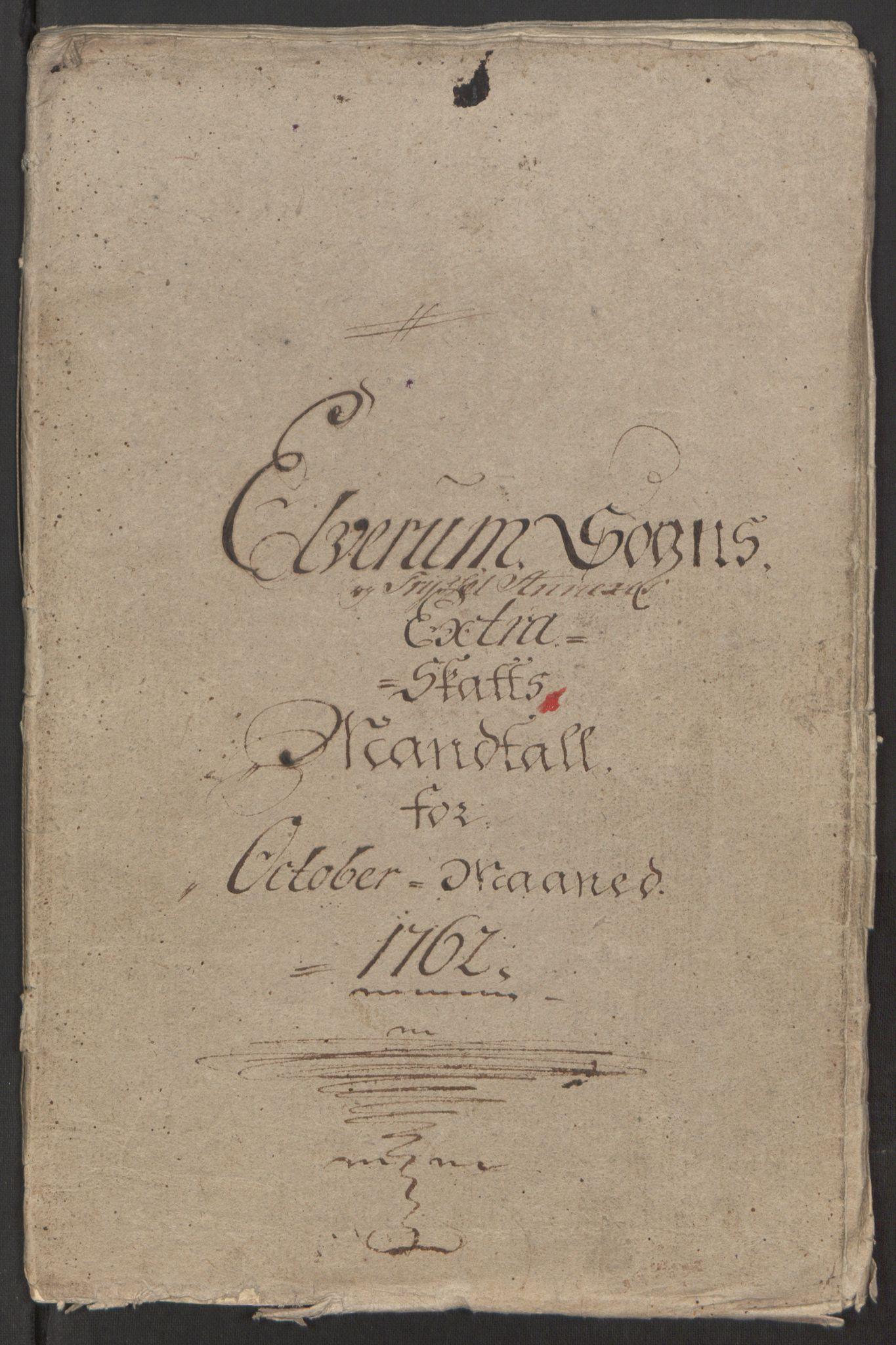RA, Rentekammeret inntil 1814, Reviderte regnskaper, Fogderegnskap, R15/L1014: Ekstraskatten Østerdal, 1762-1764, s. 268