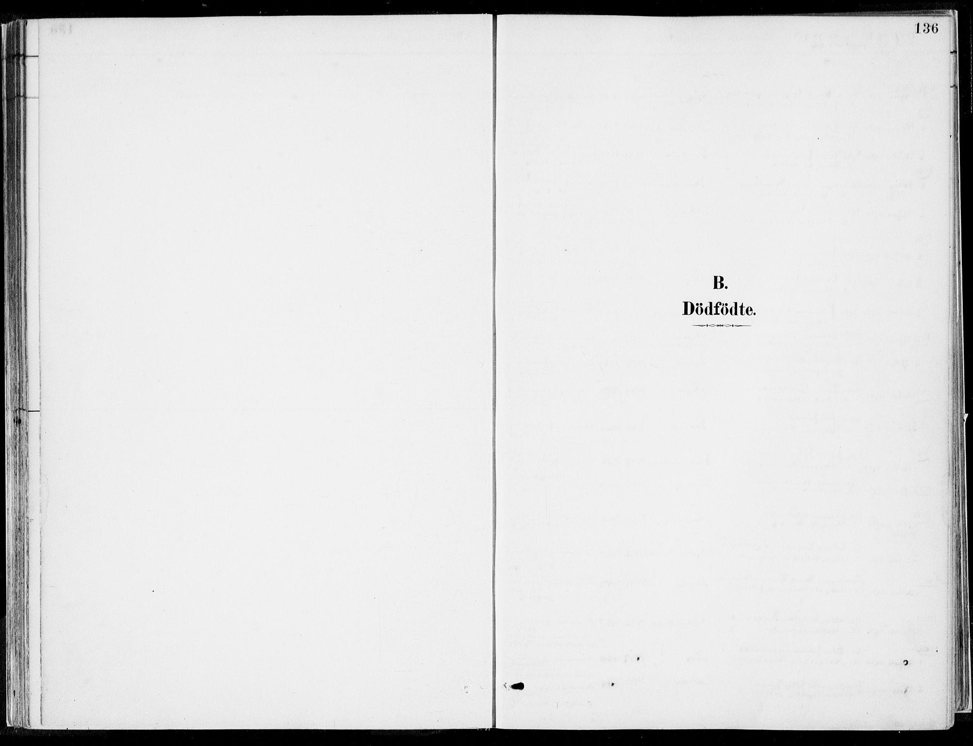 SAB, Kvinnherad Sokneprestembete, H/Haa: Ministerialbok nr. B  1, 1887-1921, s. 136
