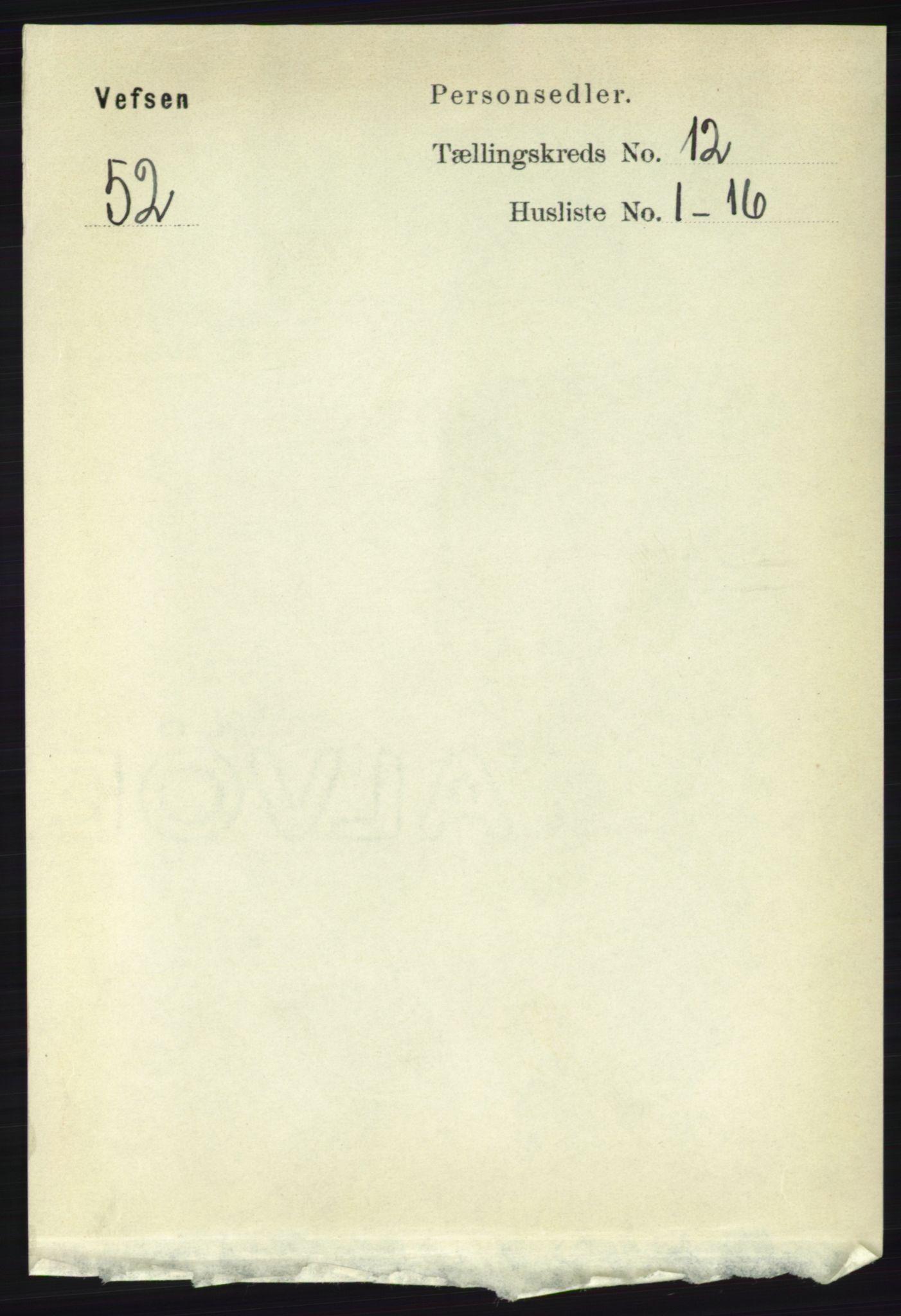 RA, Folketelling 1891 for 1824 Vefsn herred, 1891, s. 6073