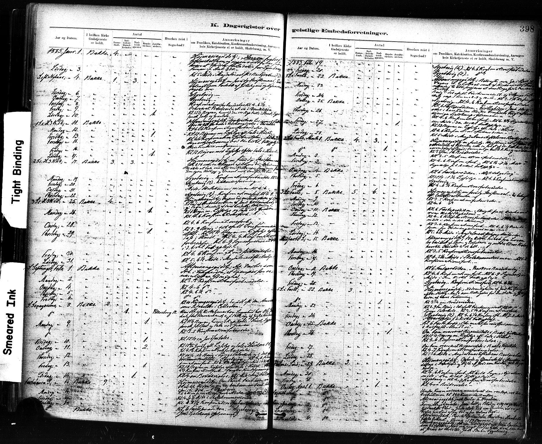 SAT, Ministerialprotokoller, klokkerbøker og fødselsregistre - Sør-Trøndelag, 604/L0189: Ministerialbok nr. 604A10, 1878-1892, s. 398