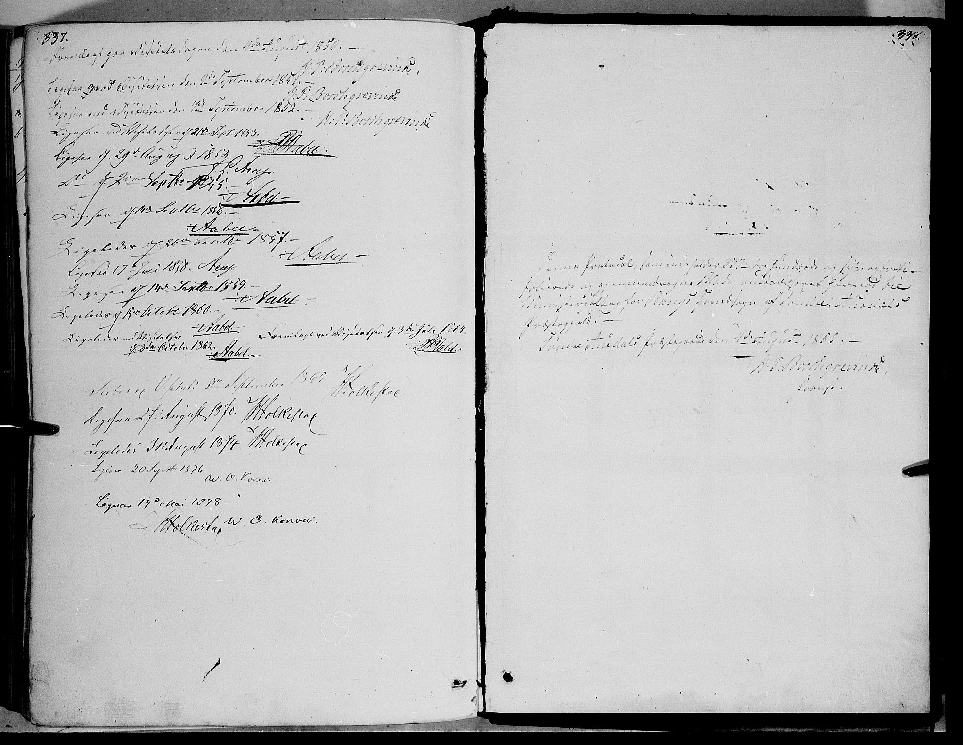 SAH, Sør-Aurdal prestekontor, Ministerialbok nr. 5, 1849-1876, s. 337